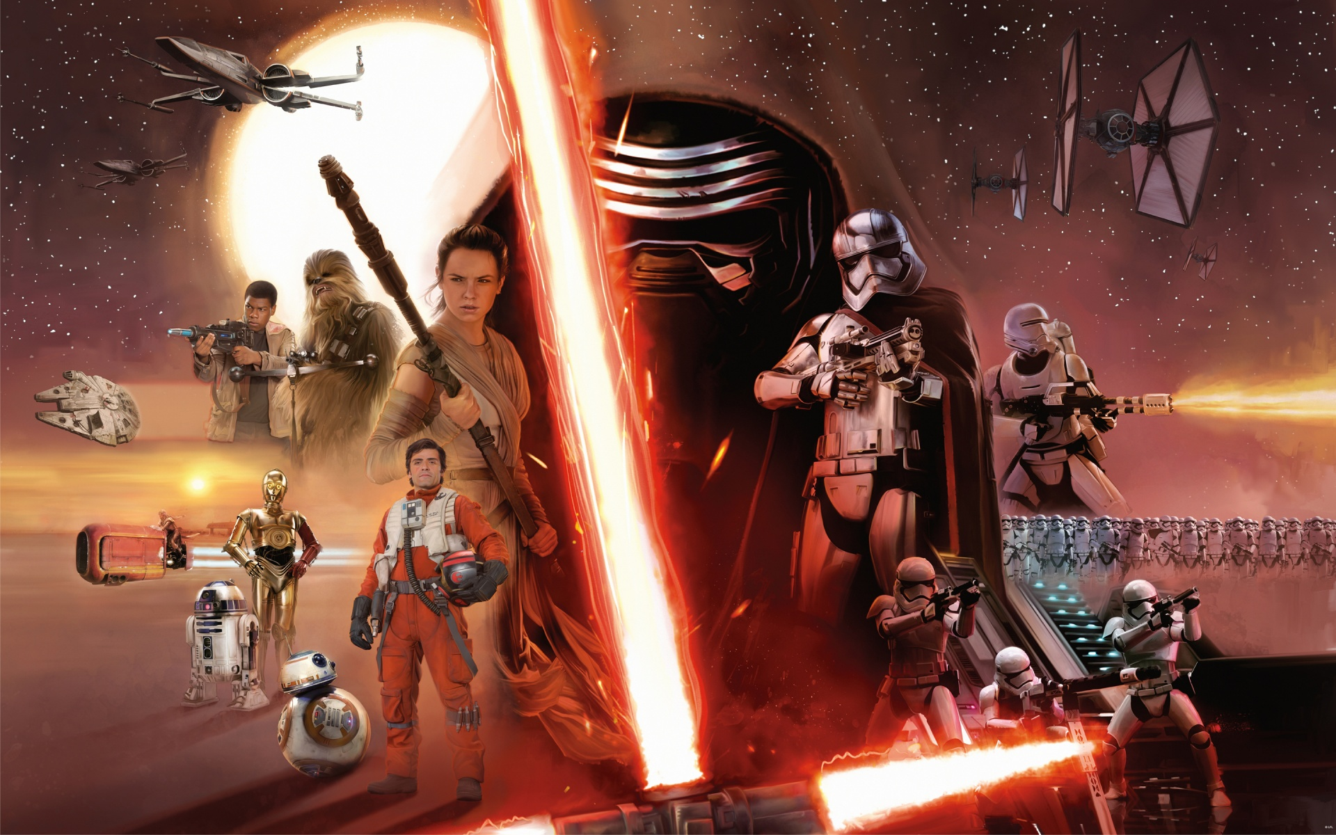 star wars episode 7 the force awakens wallpapers in jpg format for