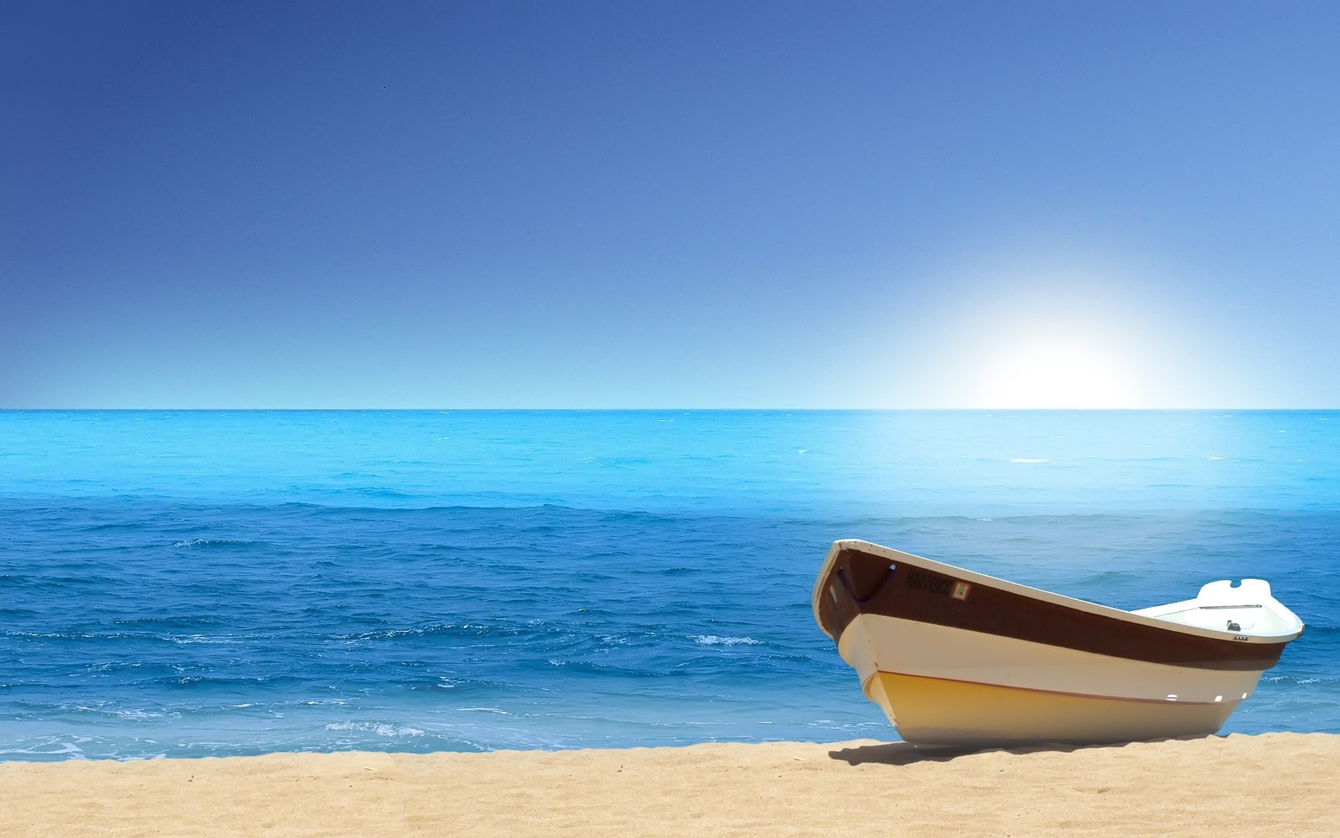 Paradise Beach HD desktop wallpaper Widescreen High Definition