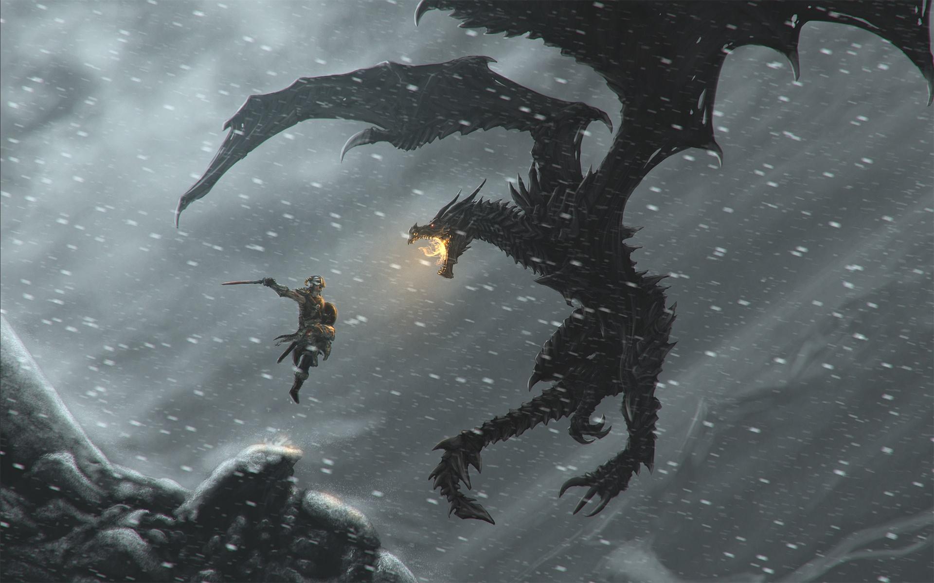 The Elder Scrolls V Skyrim Dragonborn Wallpapers