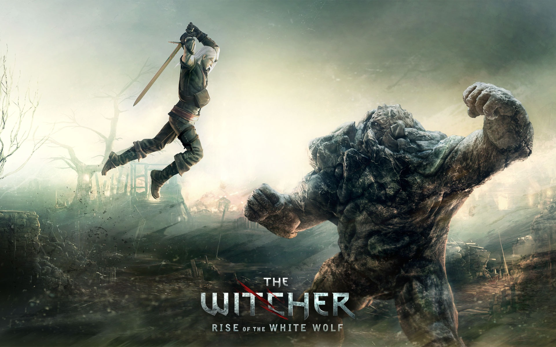 The Witcher Rise Of White Wolf Wallpaper Games Wallpapers