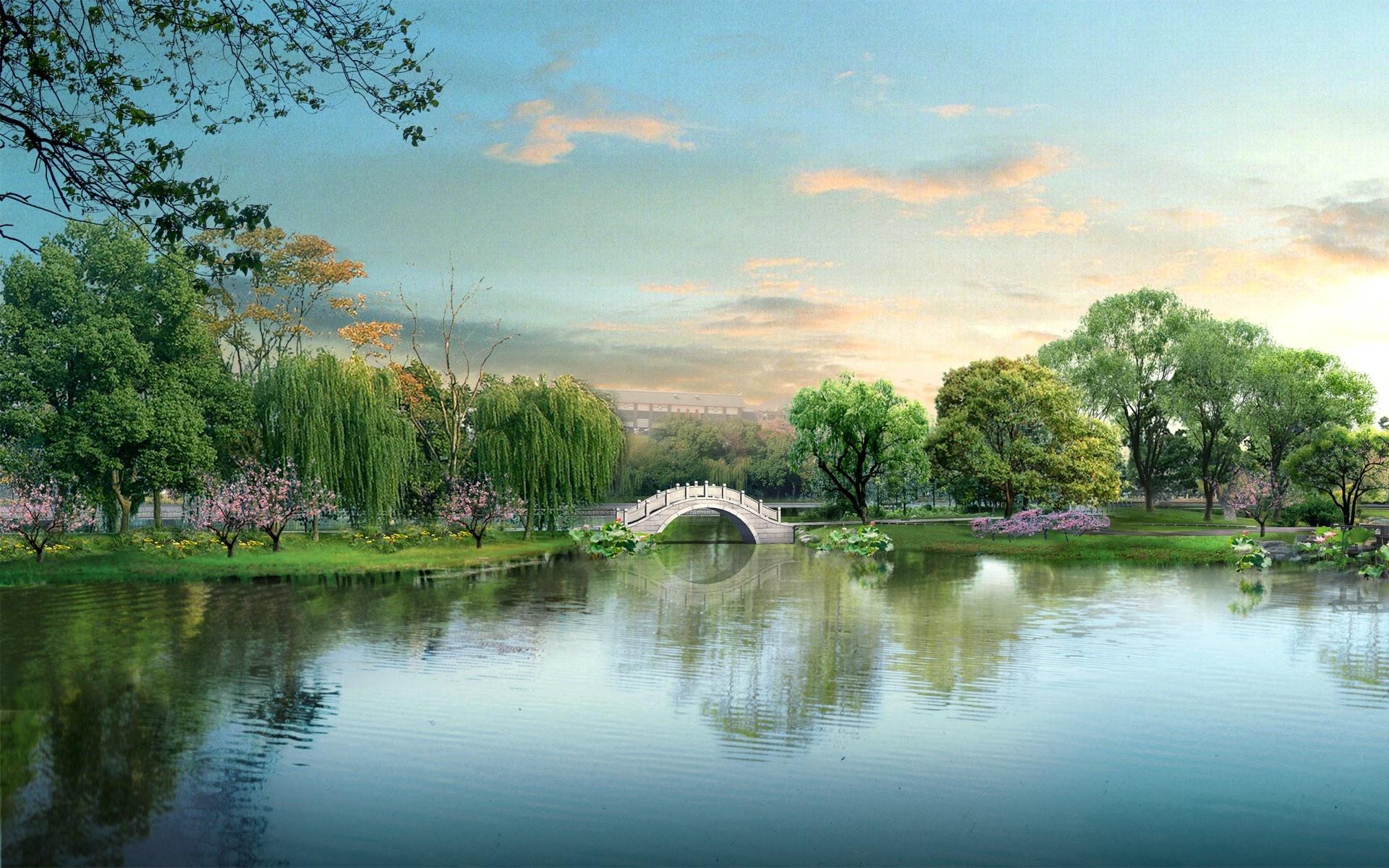 Widescreen Japan Digital Landscape Wallpapers In Jpg Format For Free
