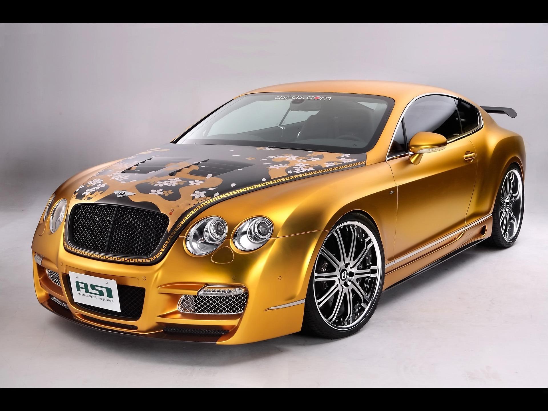 Asi Bentley Glod Wallpaper Cars Wallpapers