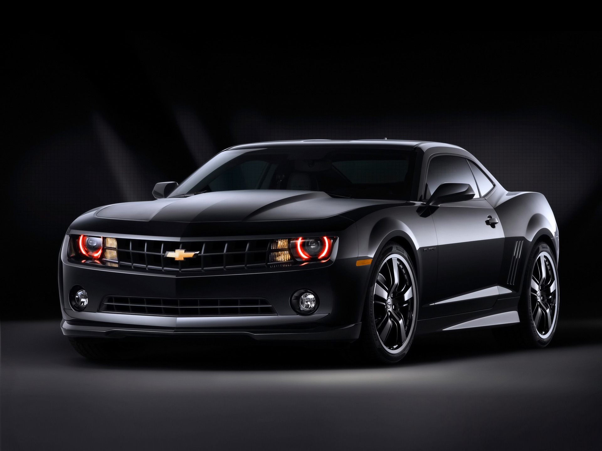 chevrolet camaro black concept wallpaper chevrolet cars wallpapers