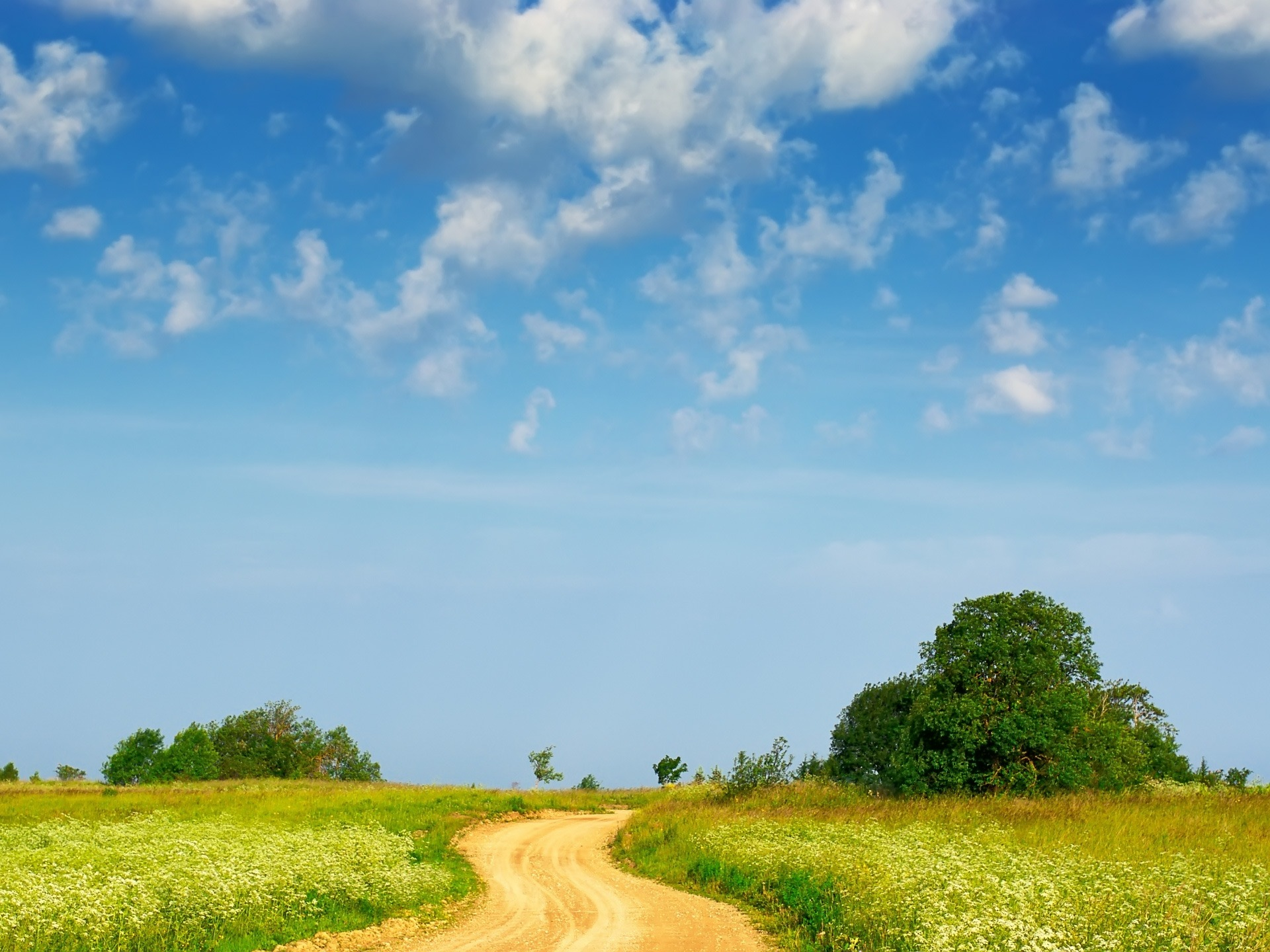 Country path Wallpaper Landscape Nature Wallpapers in jpg format for