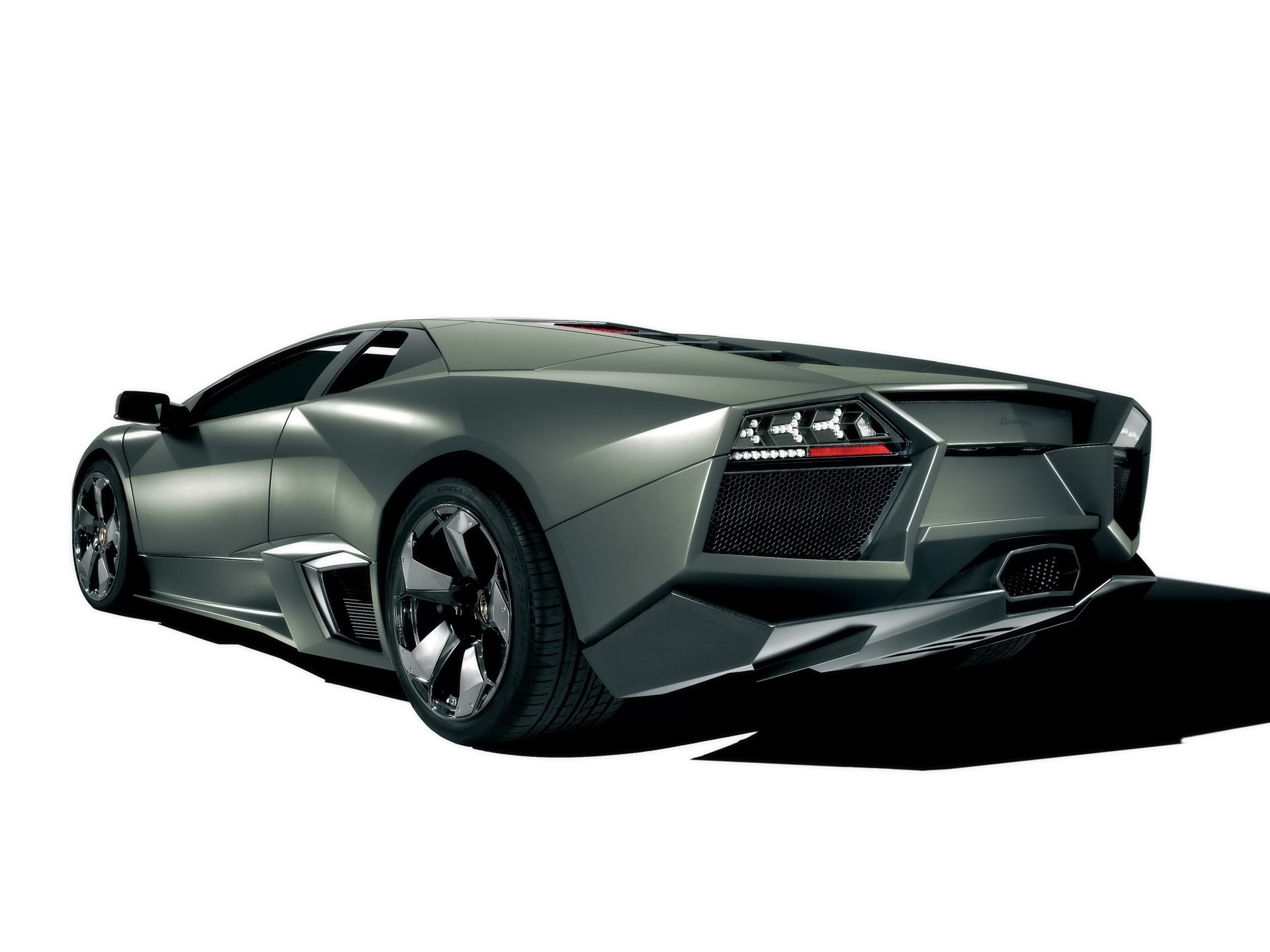 Lamborghini Reventon Rear Wallpaper Lamborghini Cars Wallpapers In