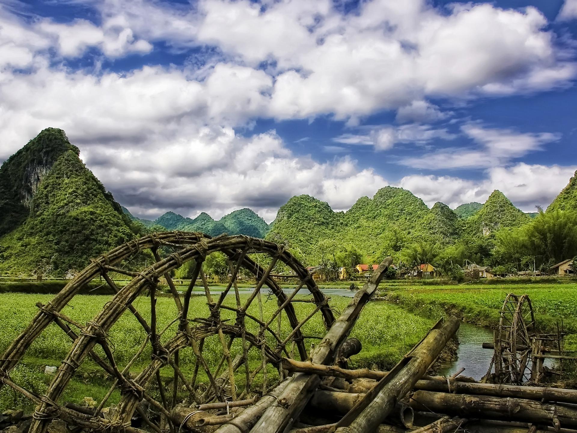 Vietnam Village Wallpaper Vietnam World Wallpapers In Jpg Format For