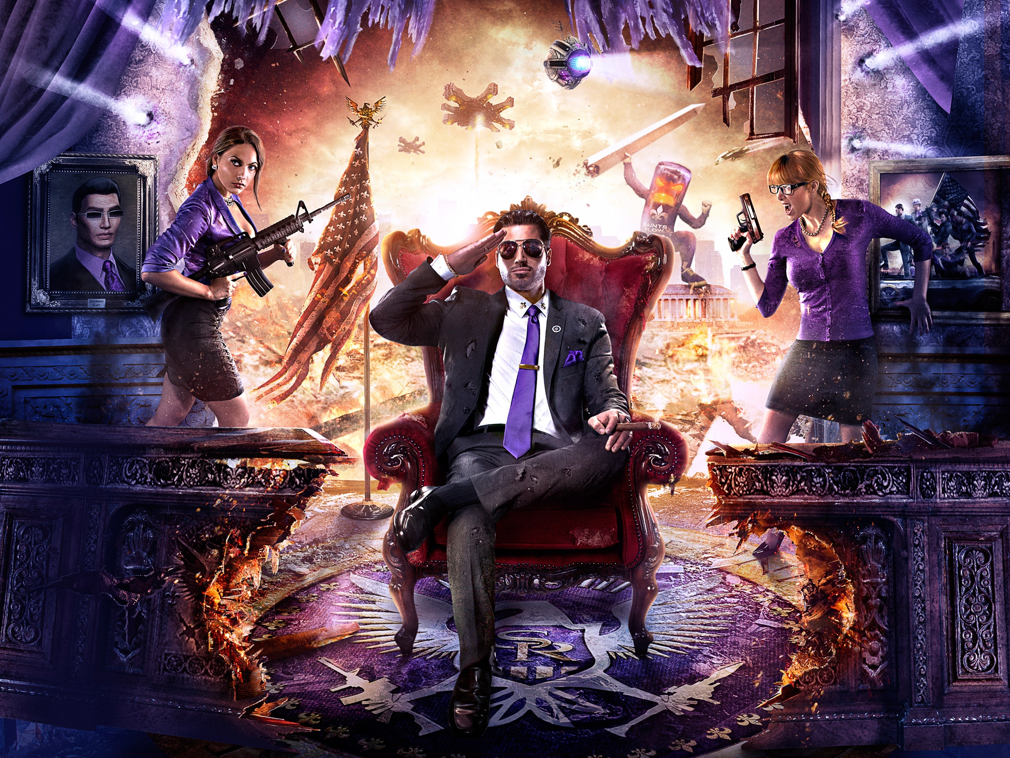 Saints Row Iv Artwork Wallpapers In Jpg Format For Free Download