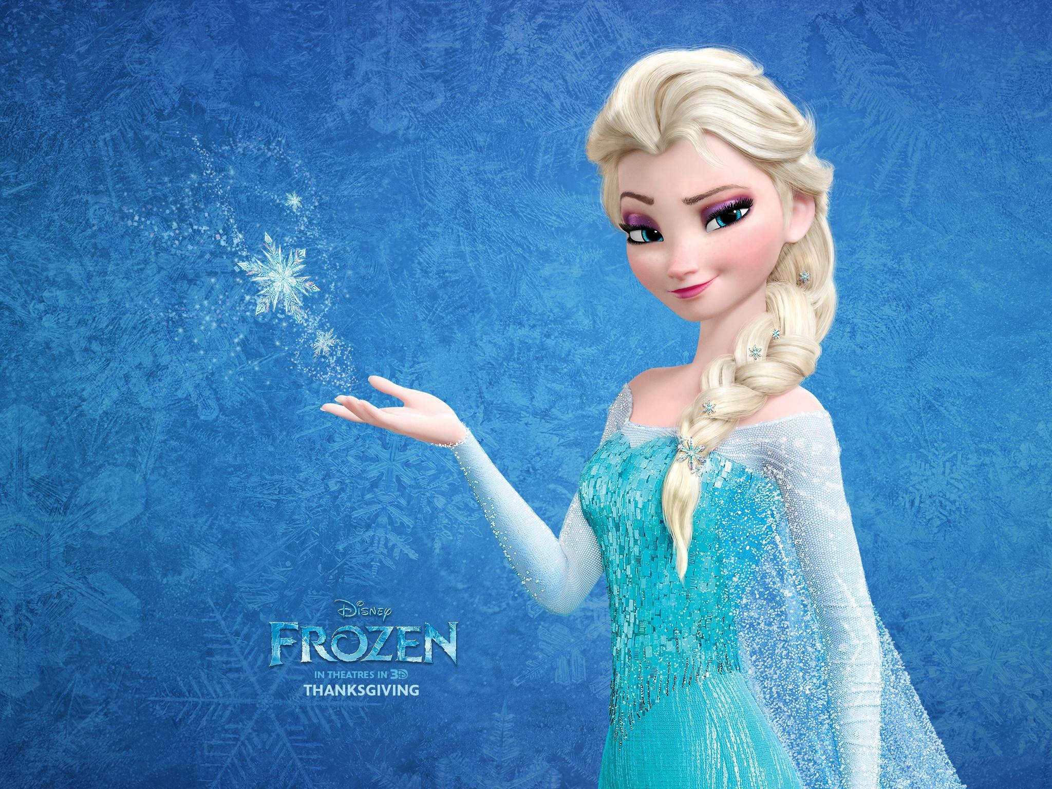 Snow Queen Elsa In Frozen Wallpapers