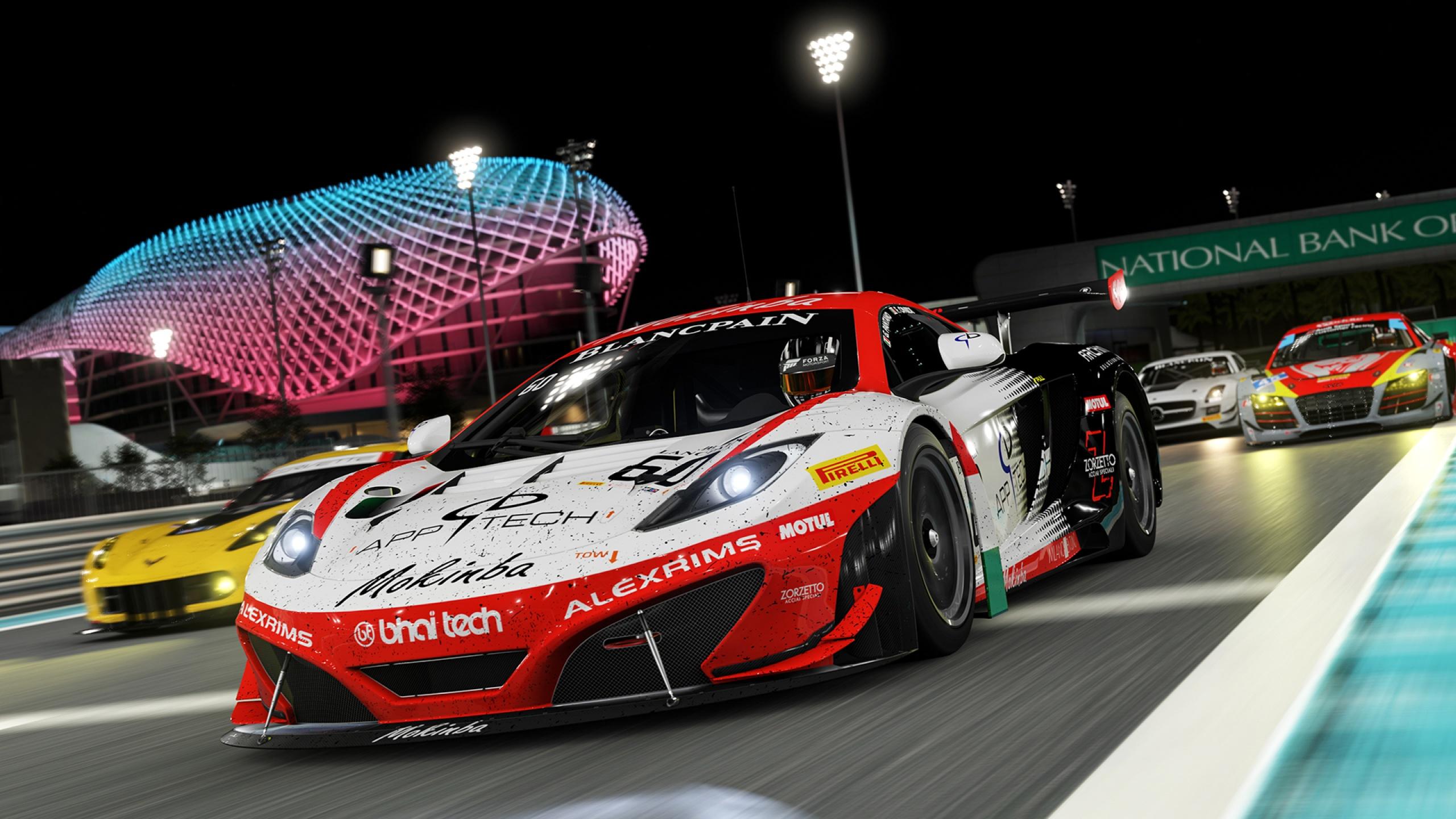 Forza Motorsport Night Race Wallpapers In Jpg Format For Free