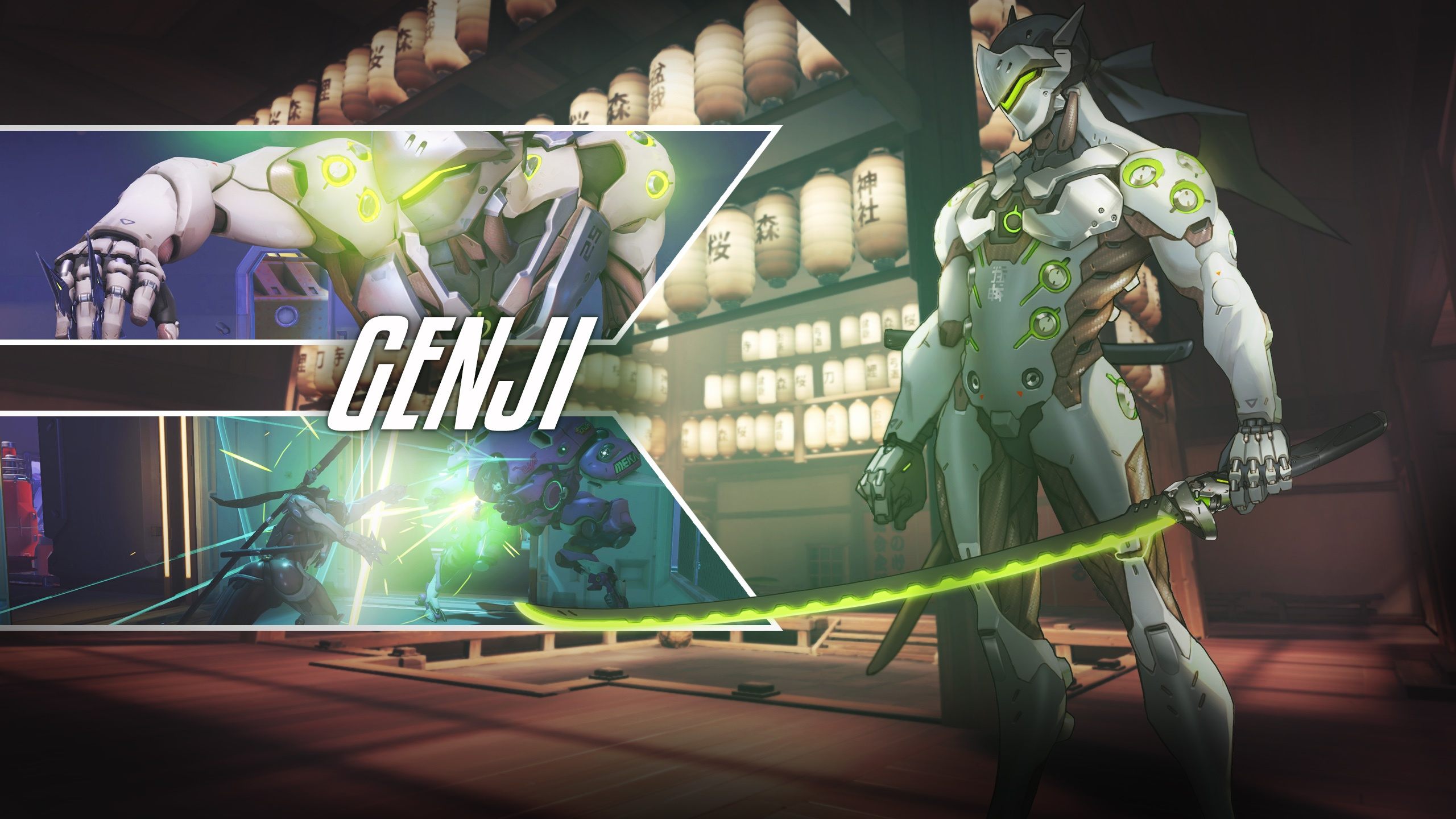 Genji Overwatch Wallpapers in jpg format for free download