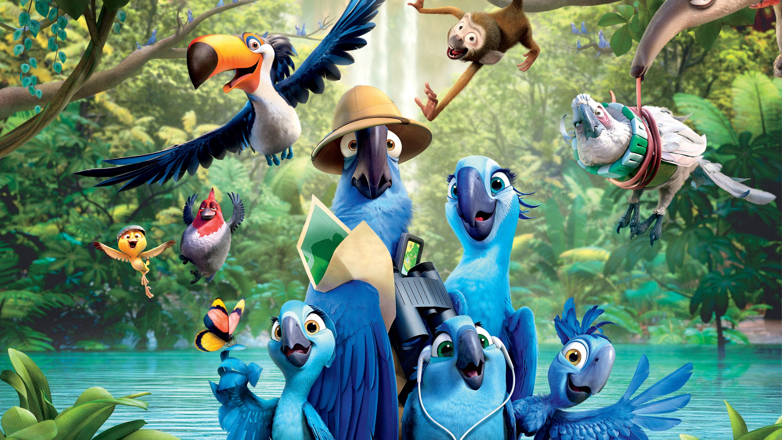 rio 2 movie wallpapers in jpg format for free download