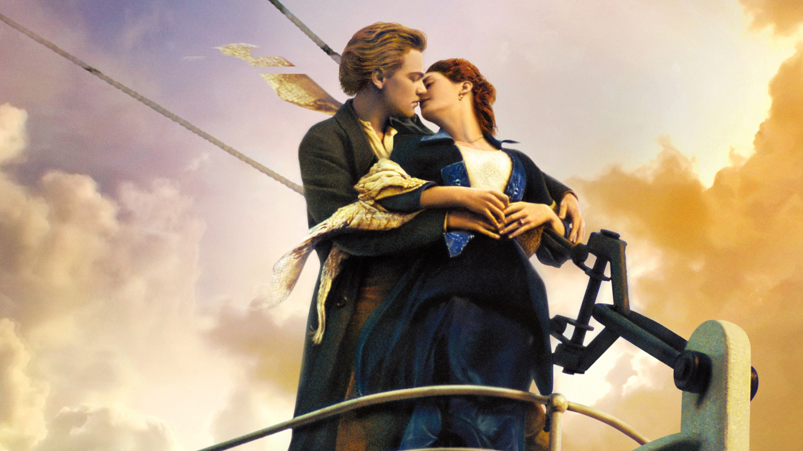 Titanic kiss wallpapers in jpg format for free download.