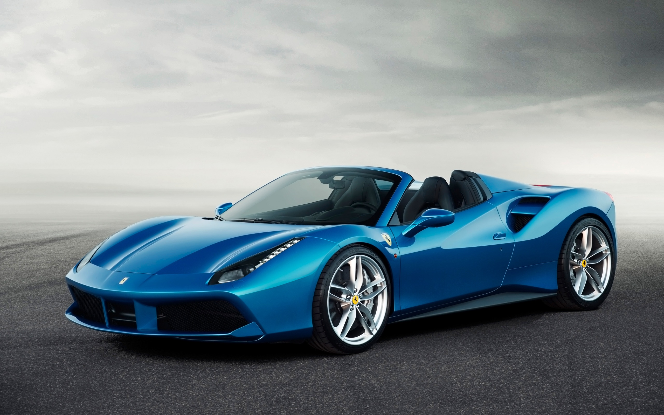 2016 Ferrari 488 Spider Wallpapers In Jpg Format For Free Download