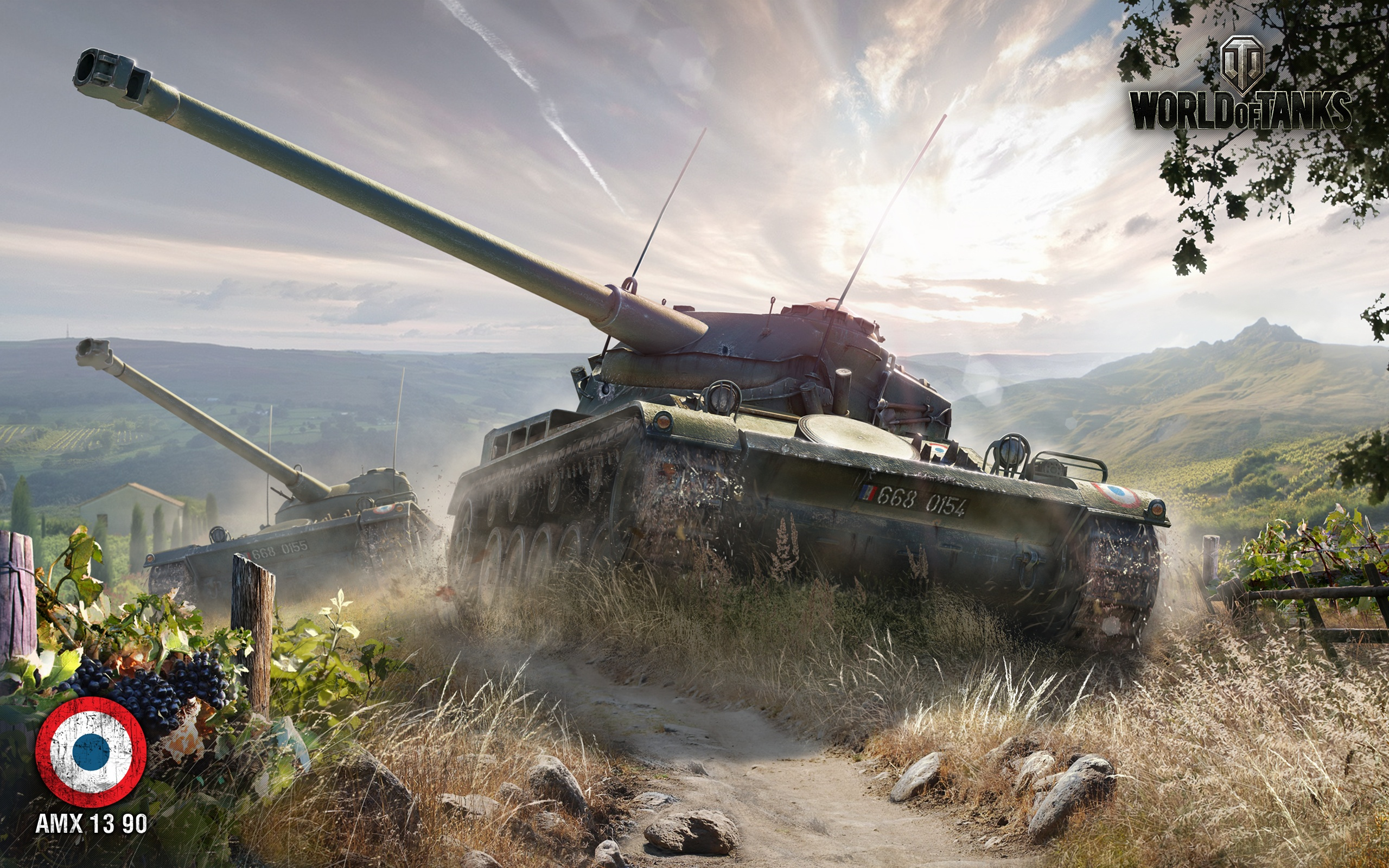 AMX 13 90 World Of Tanks Wallpapers In Jpg Format For Free Download