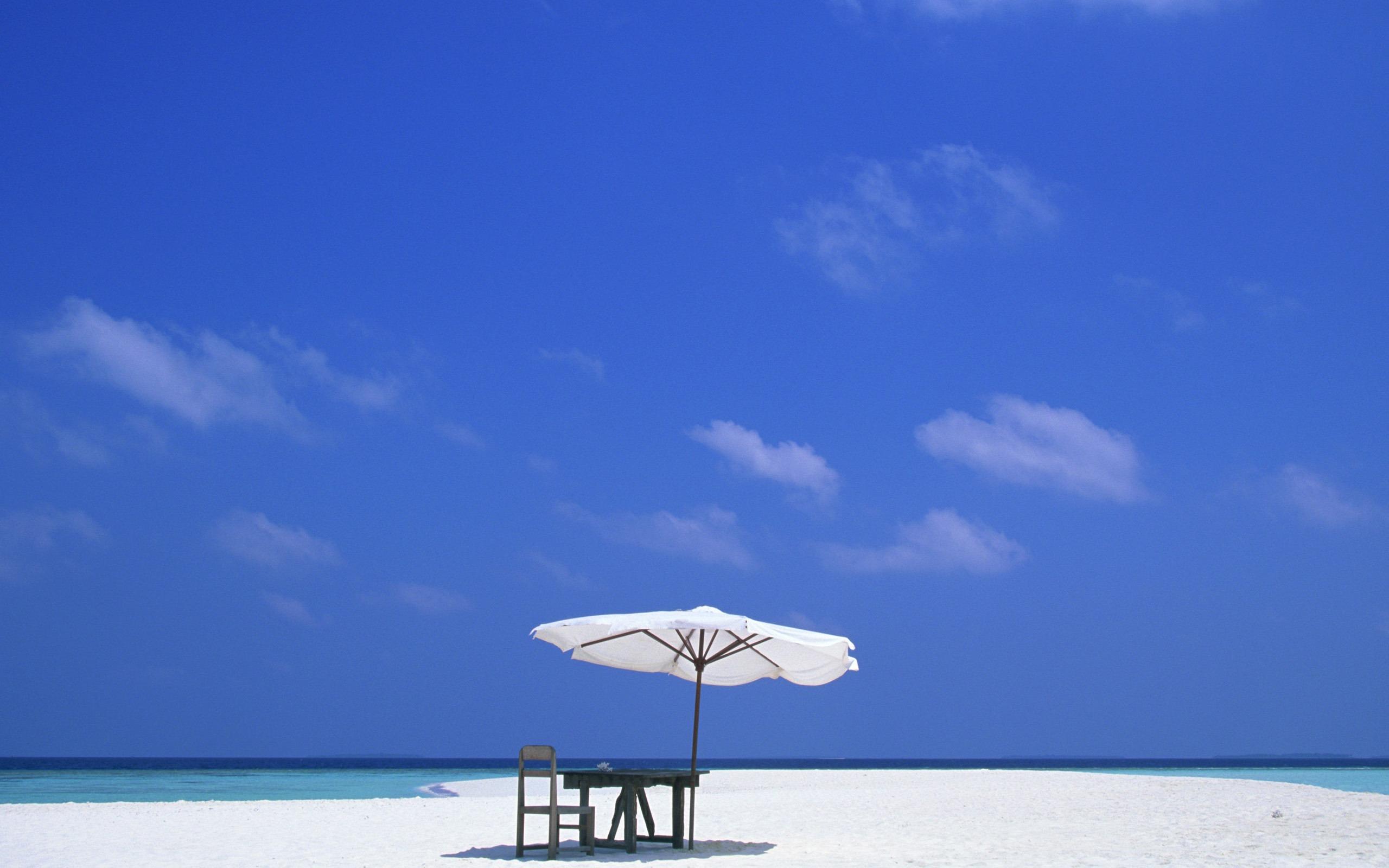 Beaches Ocean Sky Paradise Time Chair Nature Summer Beach Sea