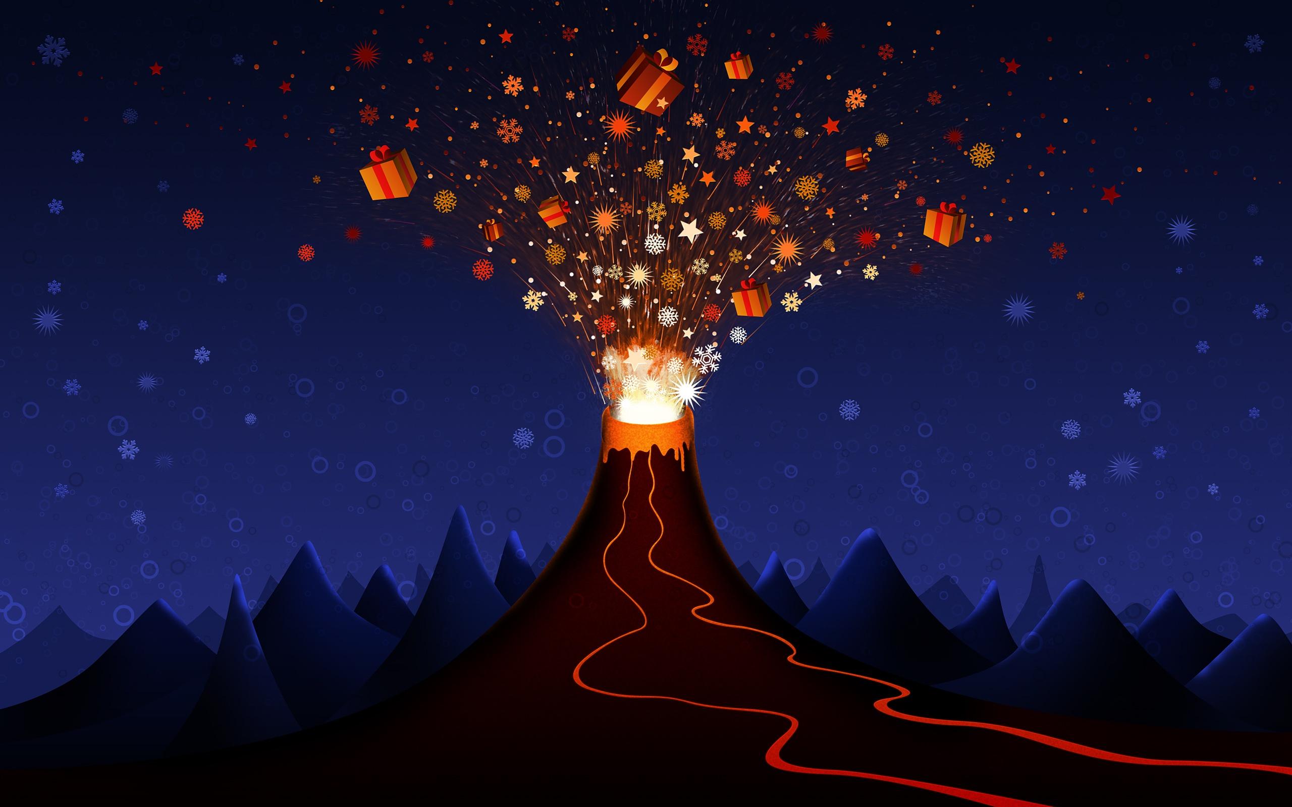 Popular Wallpaper Night God - christmas_volcano_3982  Snapshot-928575.jpg