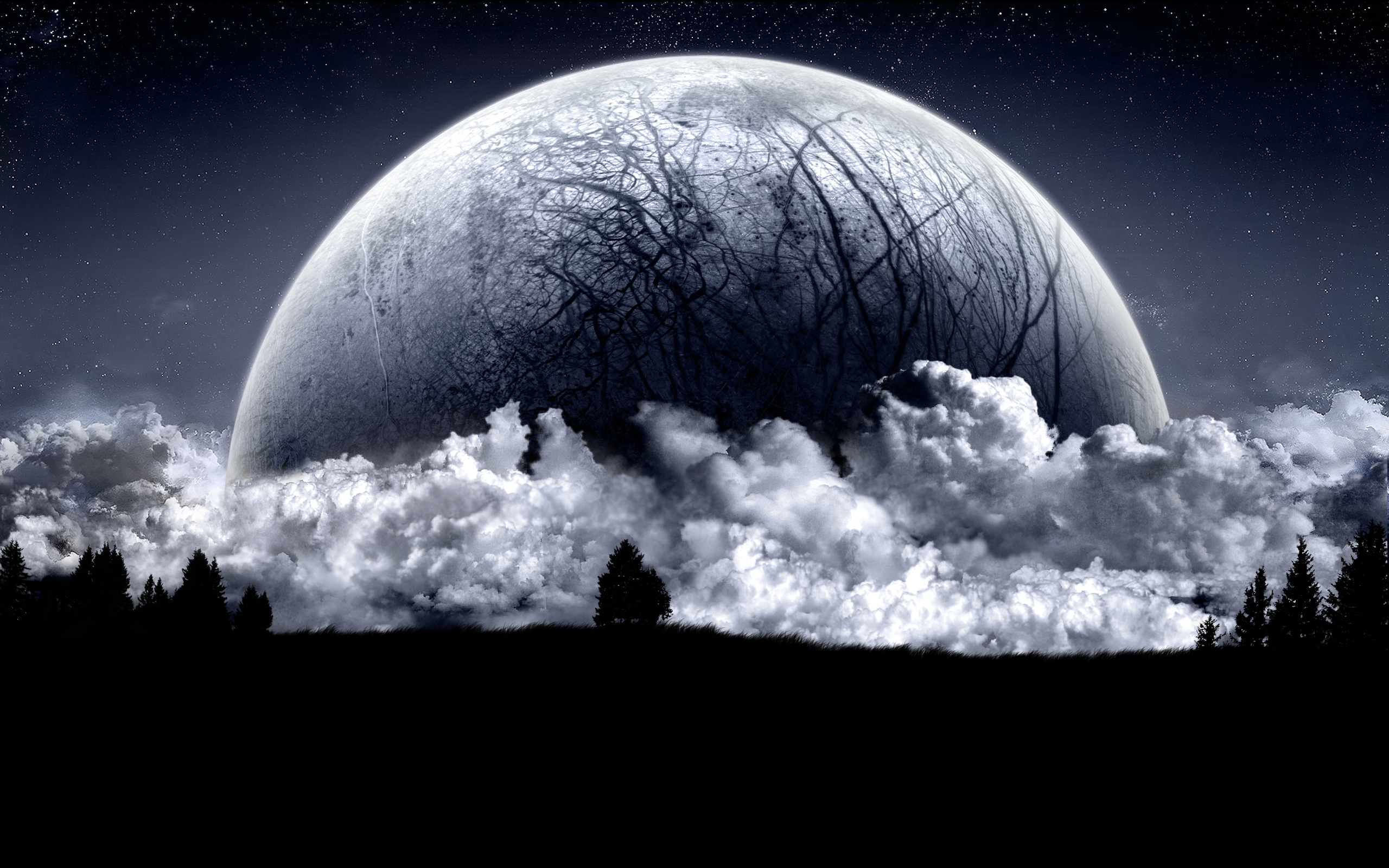 Night moon wallpapers for free download about 208 wallpapers