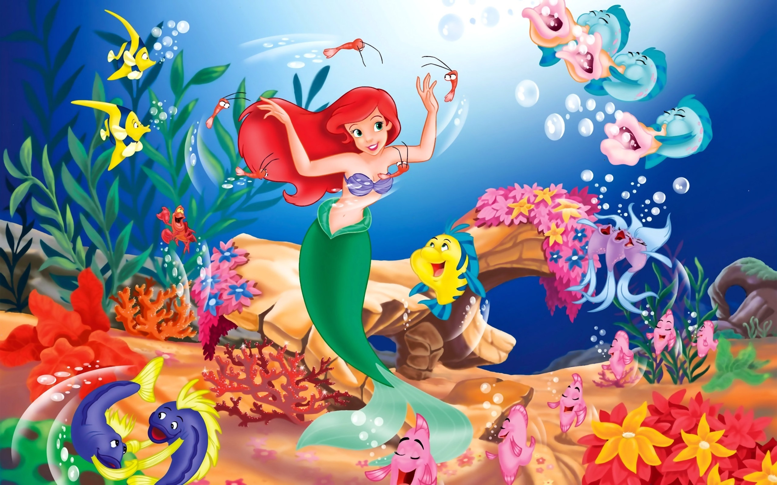 Disney The Little Mermaid Wallpapers In Jpg Format For Free Download