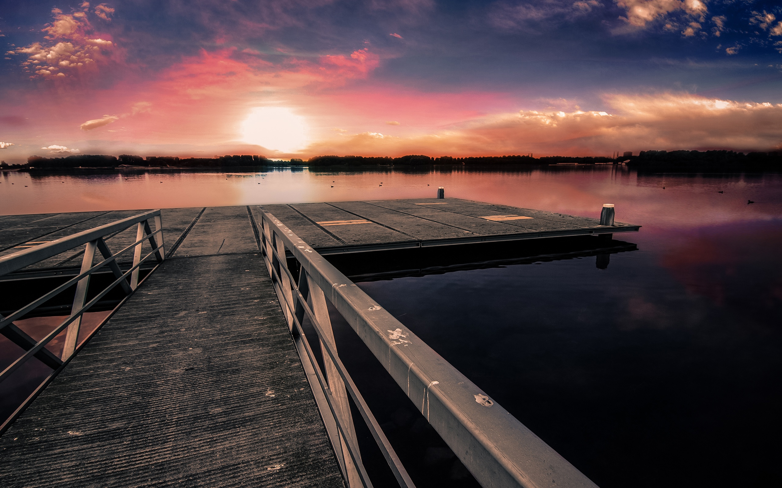 Dock Sunset Wallpapers in jpg format for free download