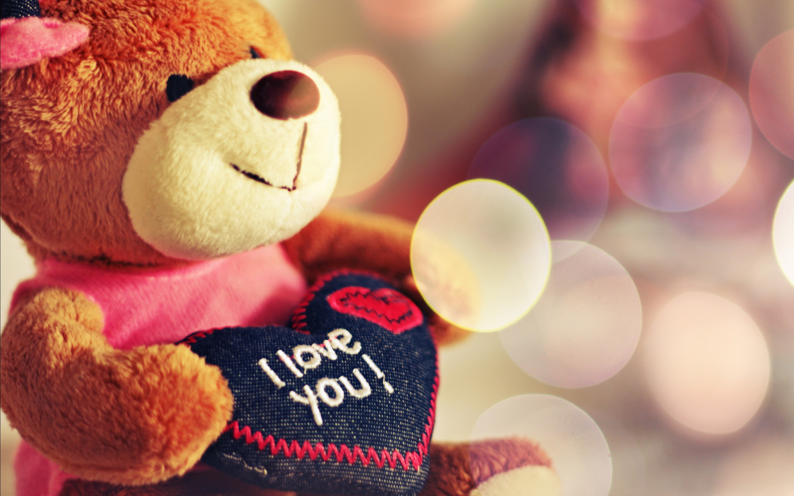 I Love You Teddy Bear Wallpapers