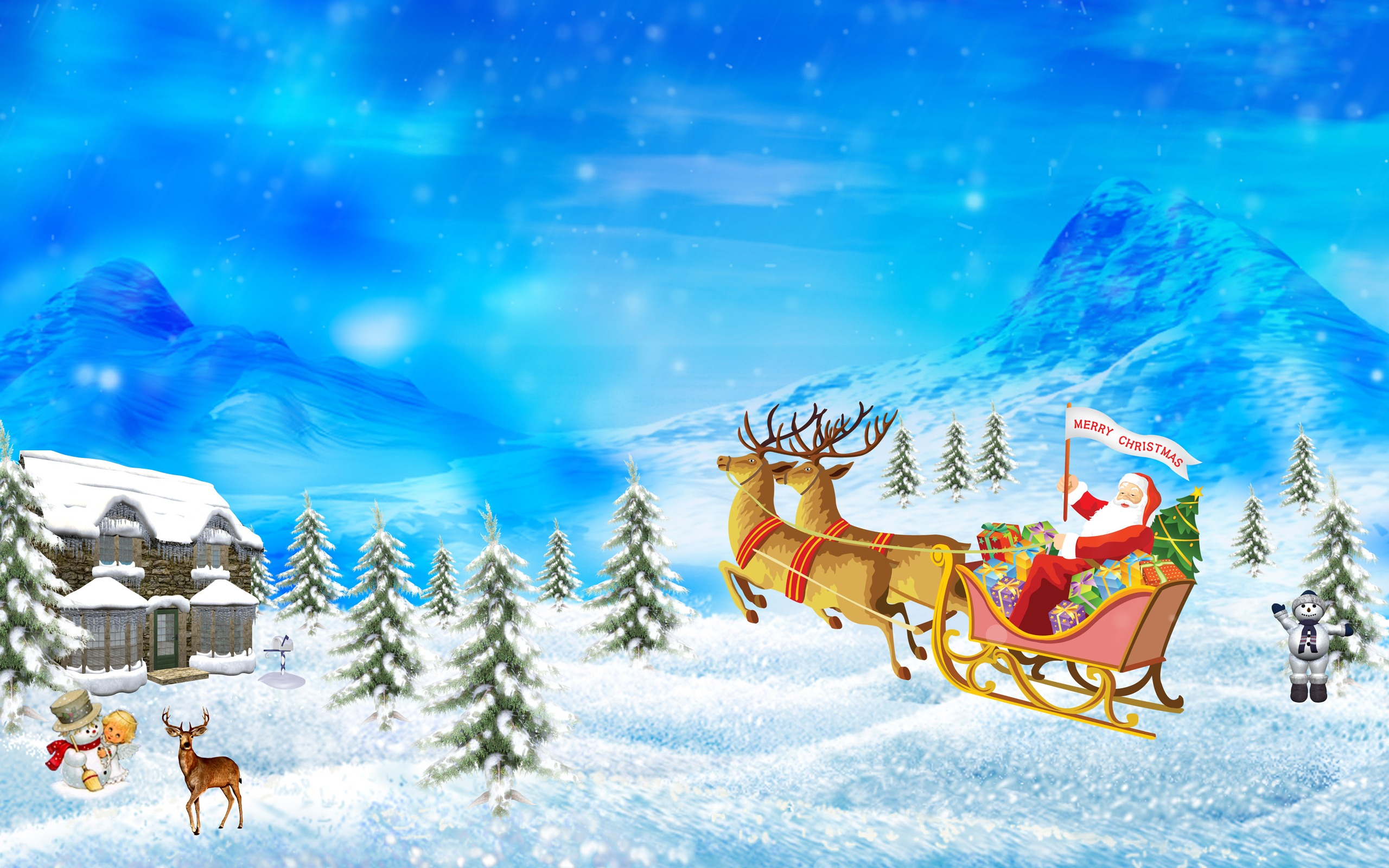 merry christmas drawing wallpaper christmas holidays wallpapers in jpg format for free download all free download com
