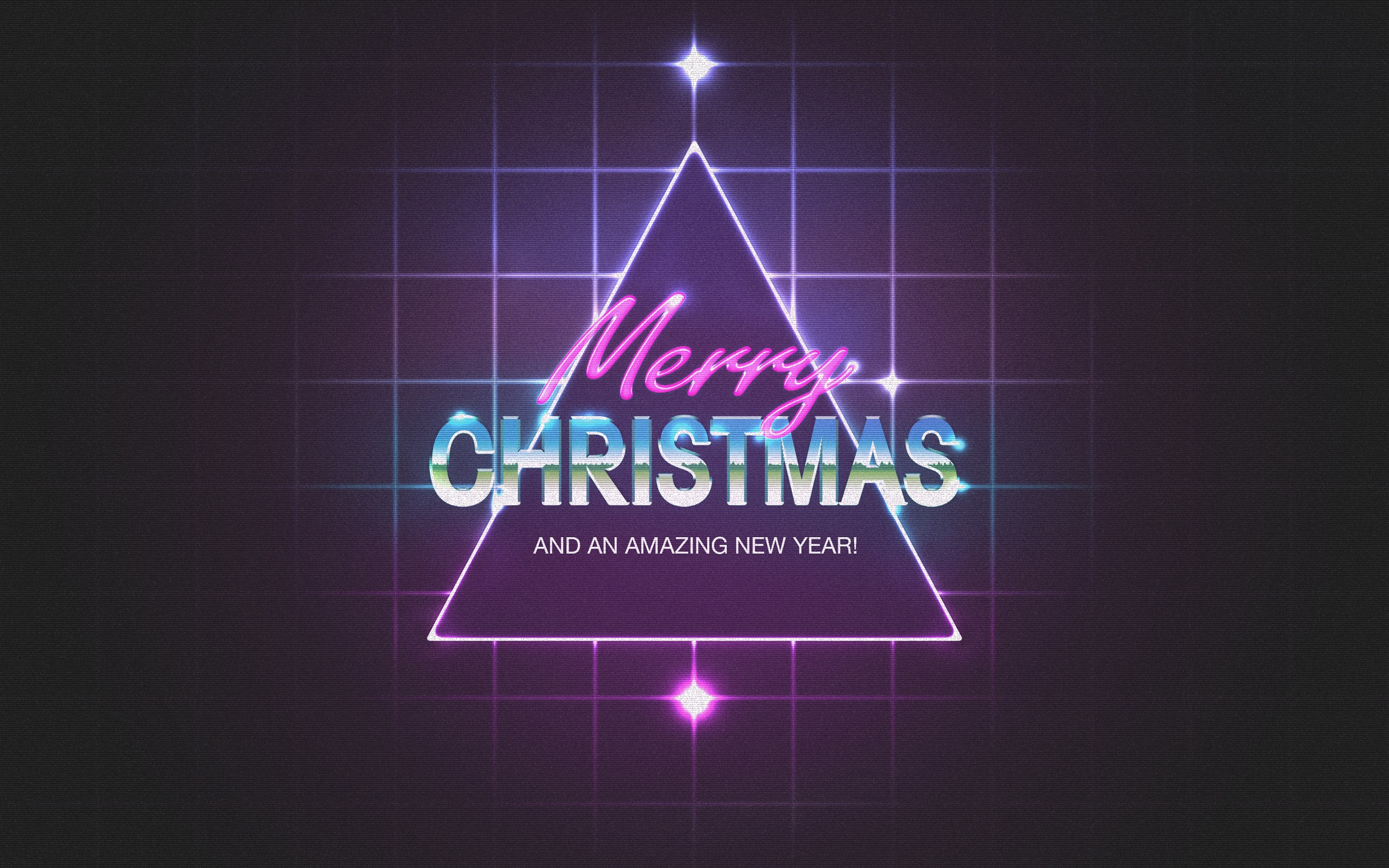 Merry Christmas Happy New Year 2014 Wallpapers