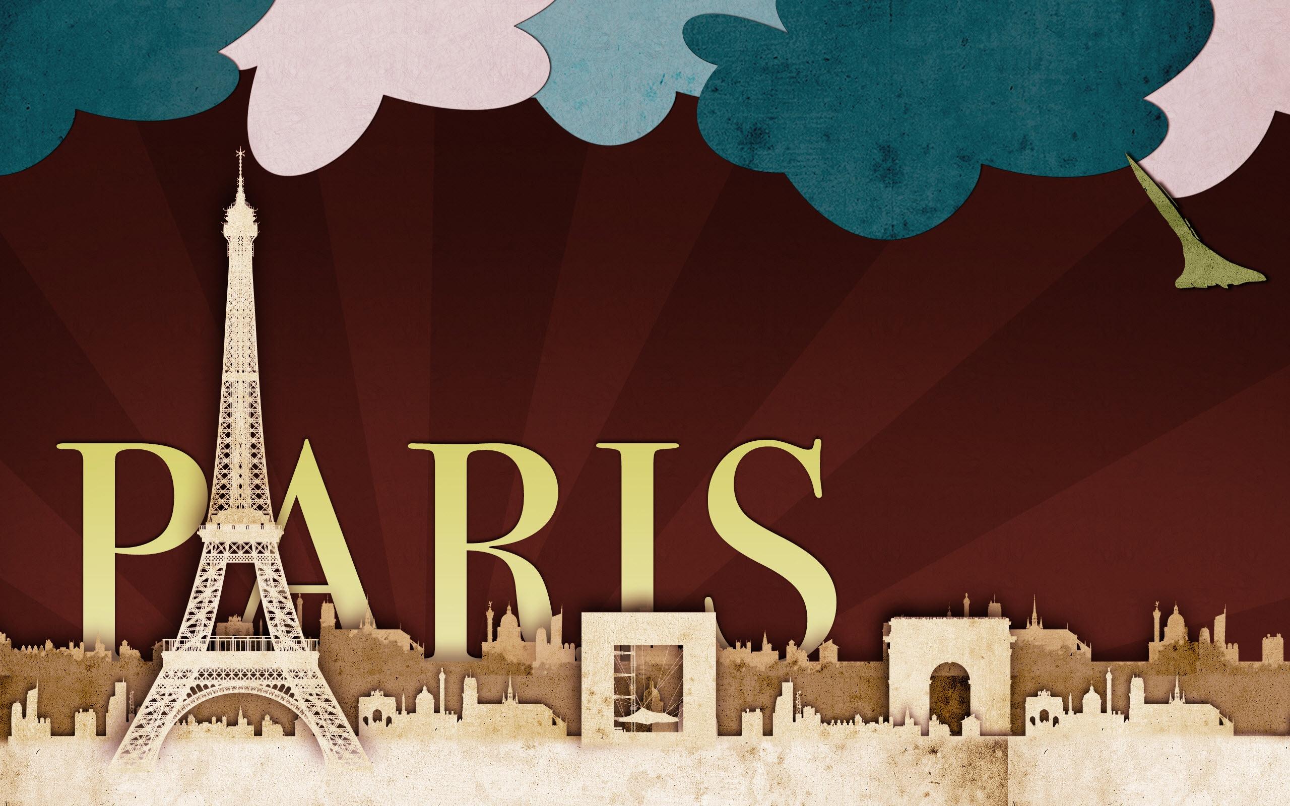 Wallpaper download paris - Paris Scrap Art