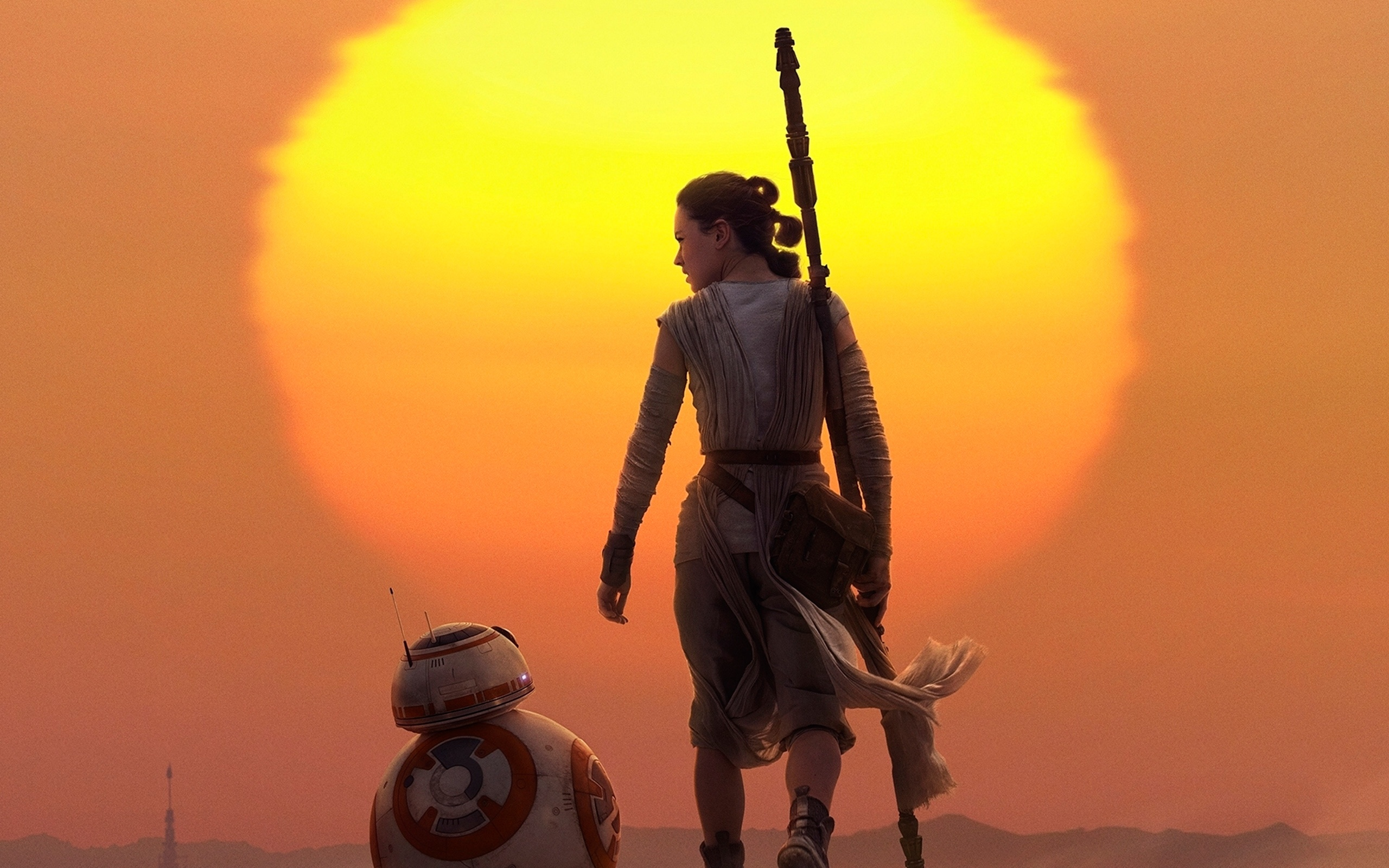 rey & bb 8 star wars the force awakens wallpapers in jpg format