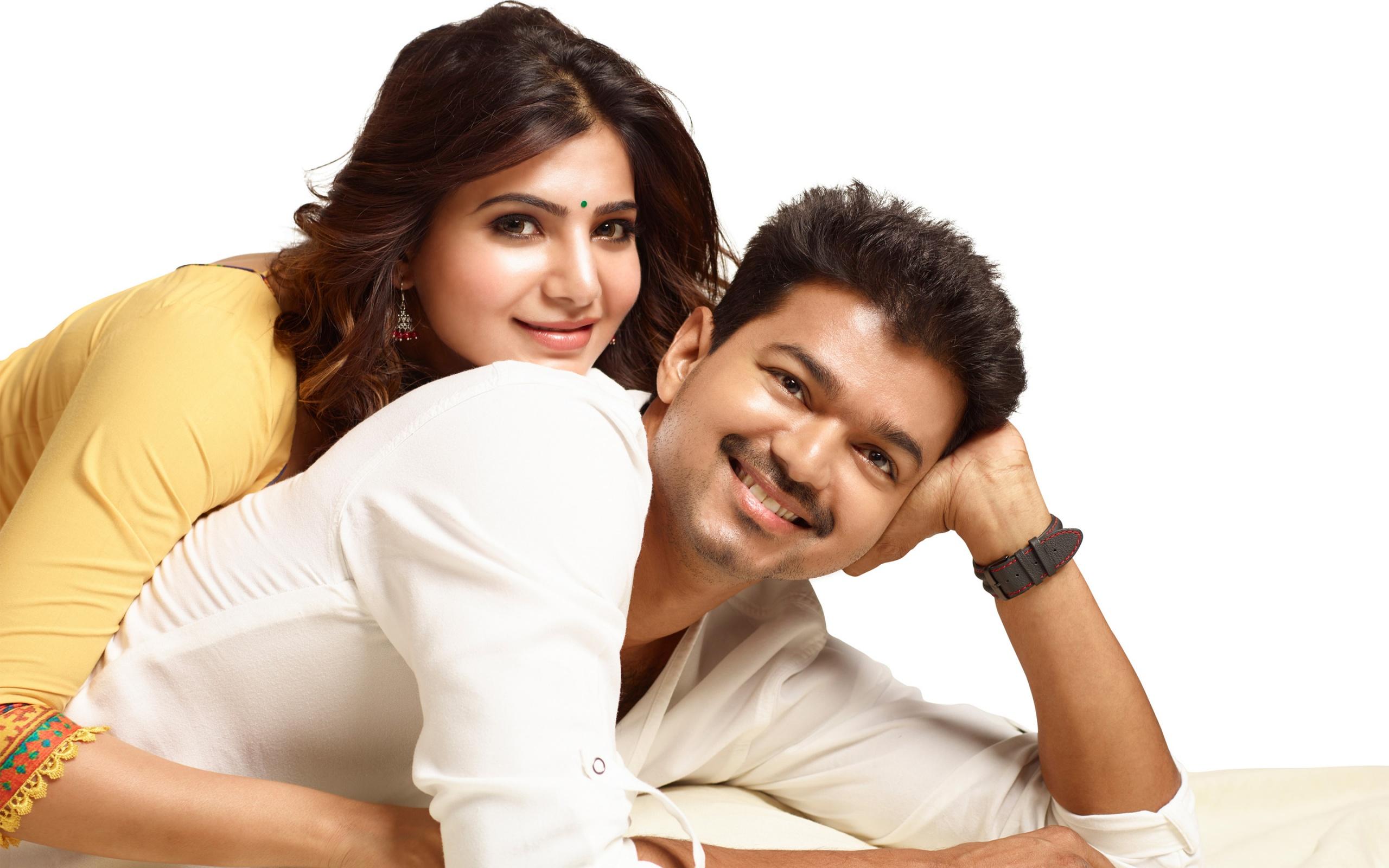 Hd wallpaper vijay - Samantha Vijay Tamil Movie Wallpapers 67 Wallpapers