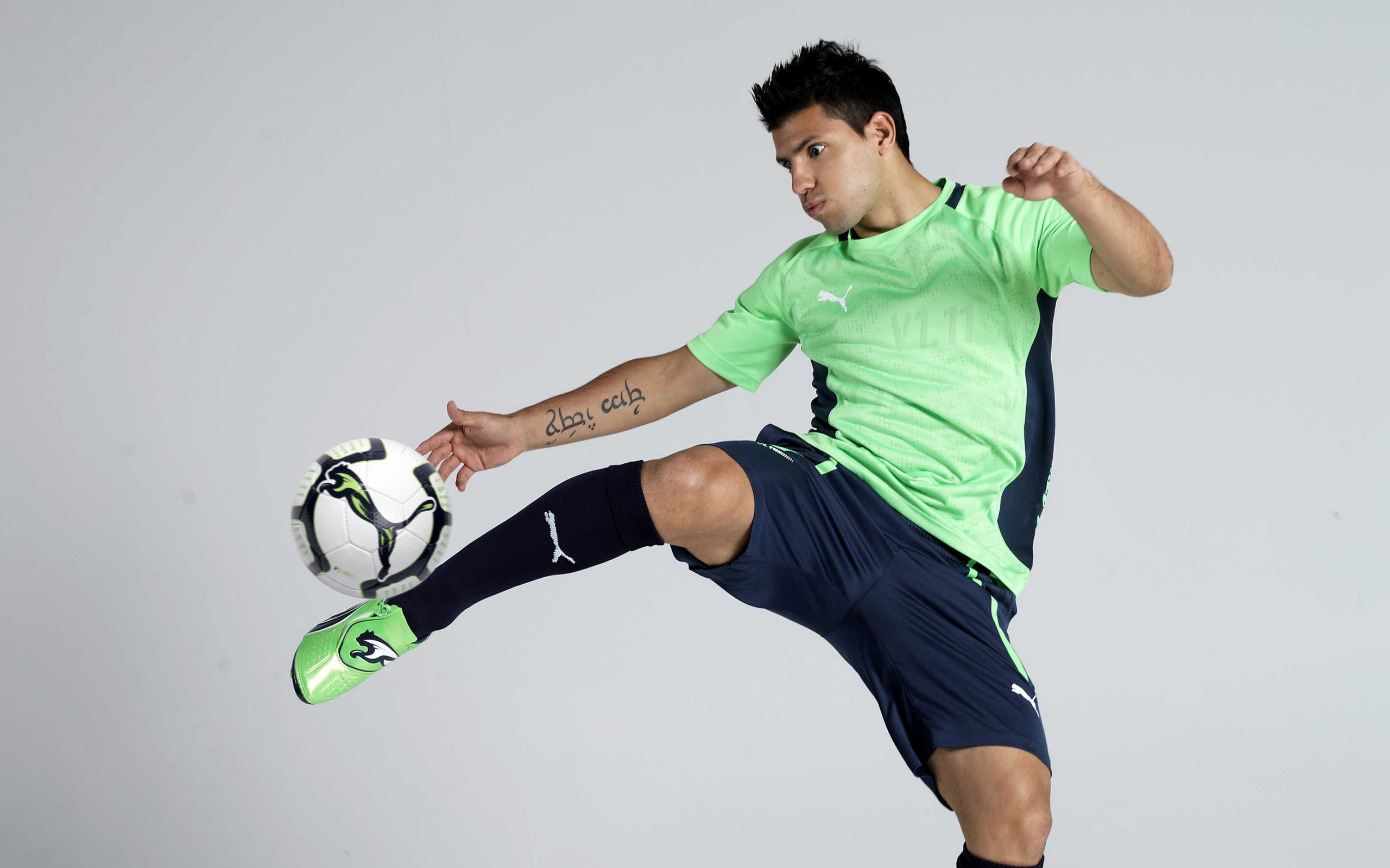 Sergio Aguero Soccer Player Wallpapers In Jpg Format For Free Download