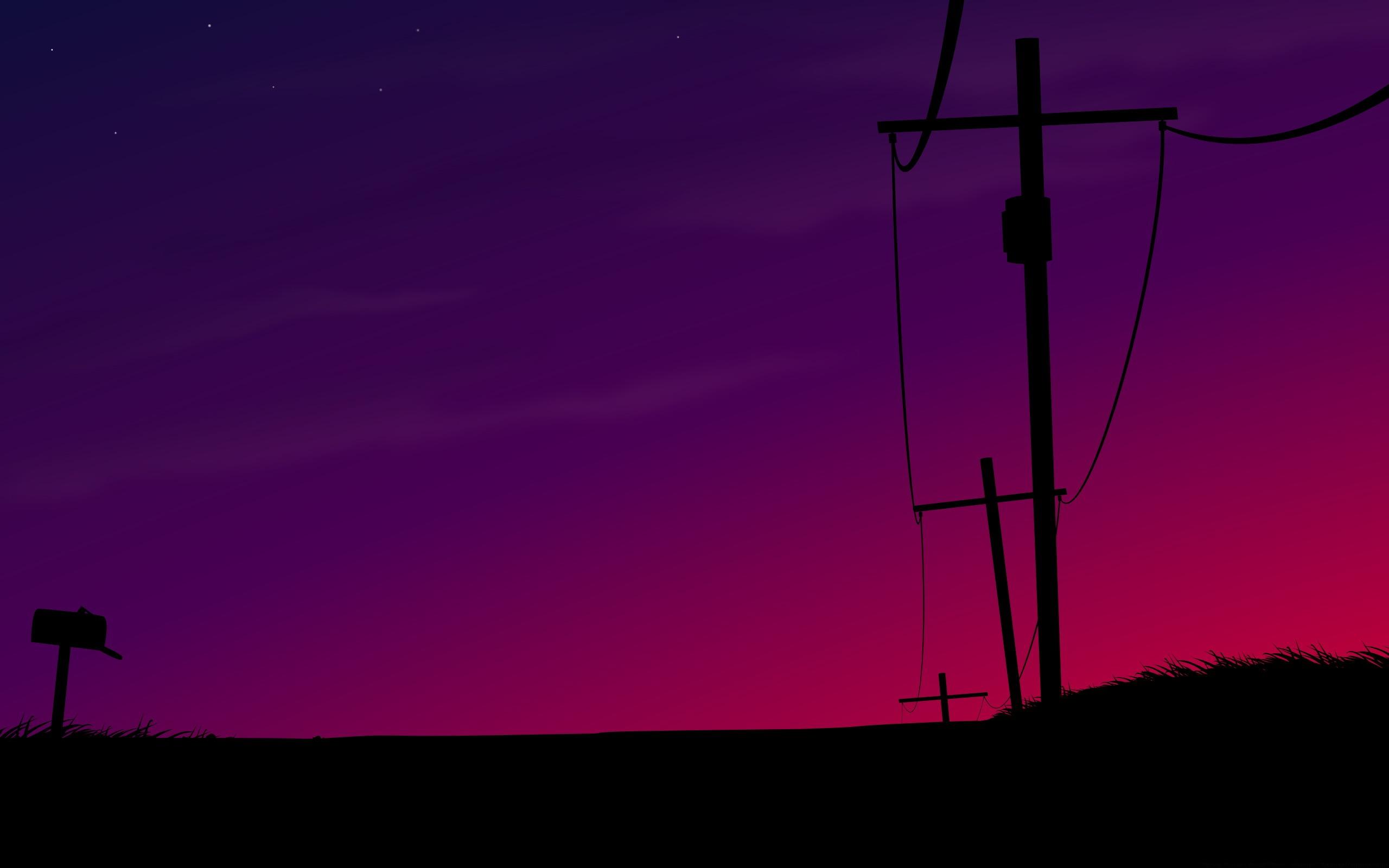 Magneta Sunset Wallpaper Vector D Wallpapers in jpg format for