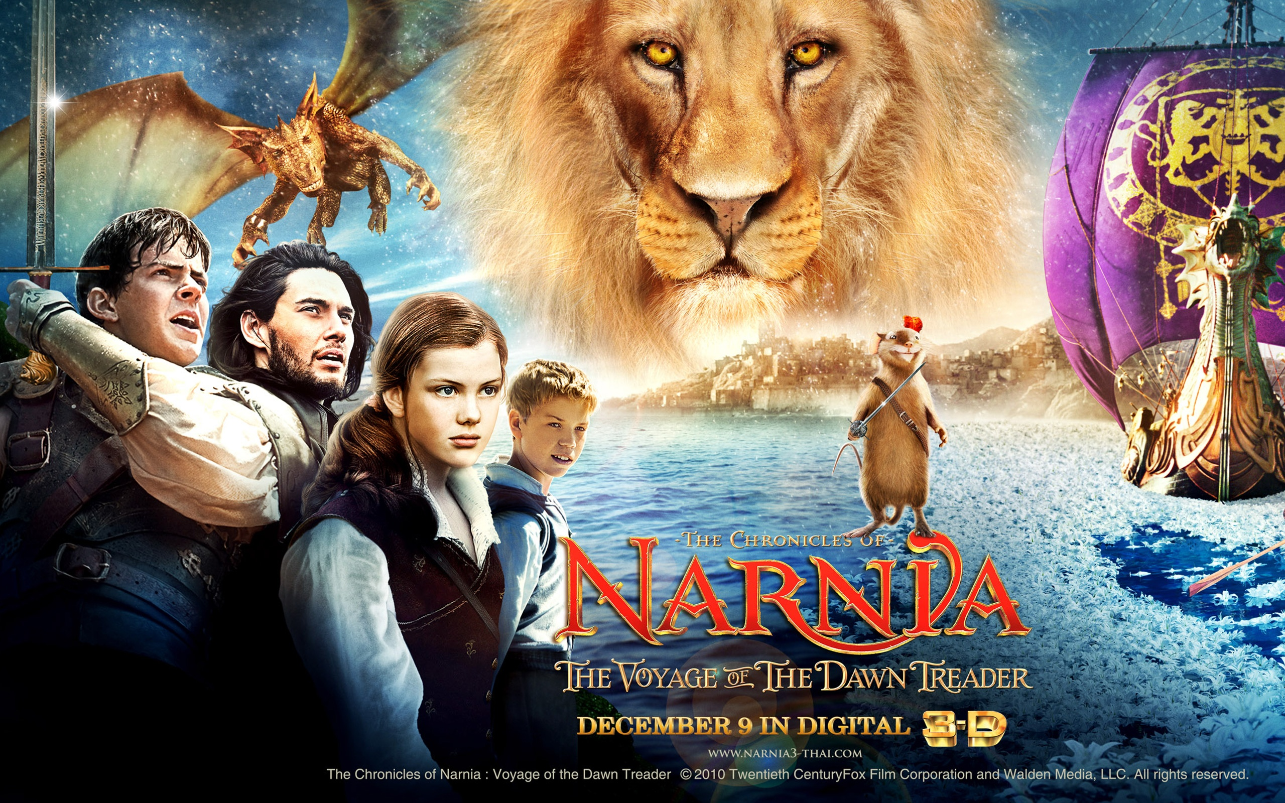 The Chronicles Of Narnia Voyage Of The Dawn Treader Wallpapers In