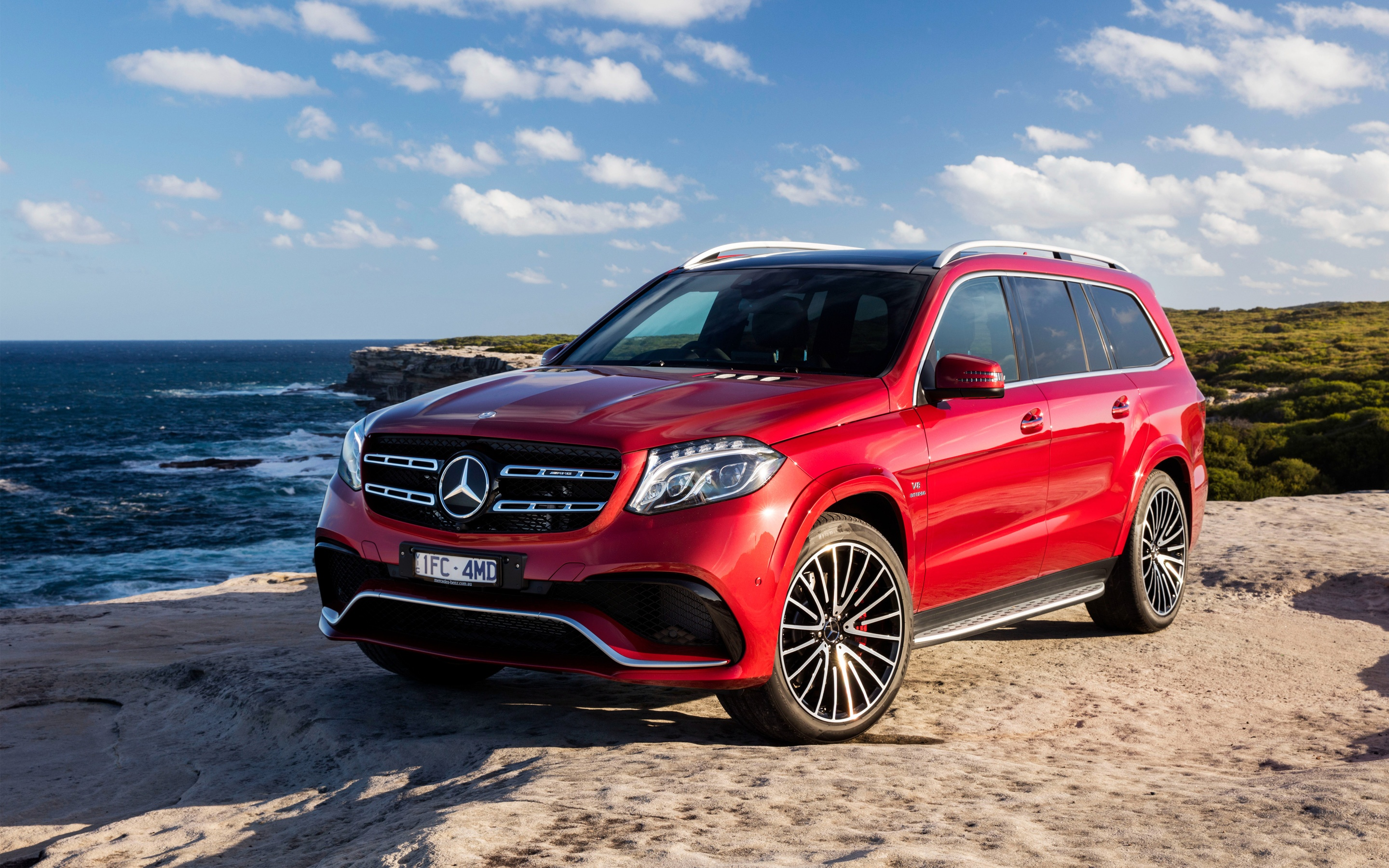 2016 AMG Mercedes Benz GLS Class Wallpapers in format for free