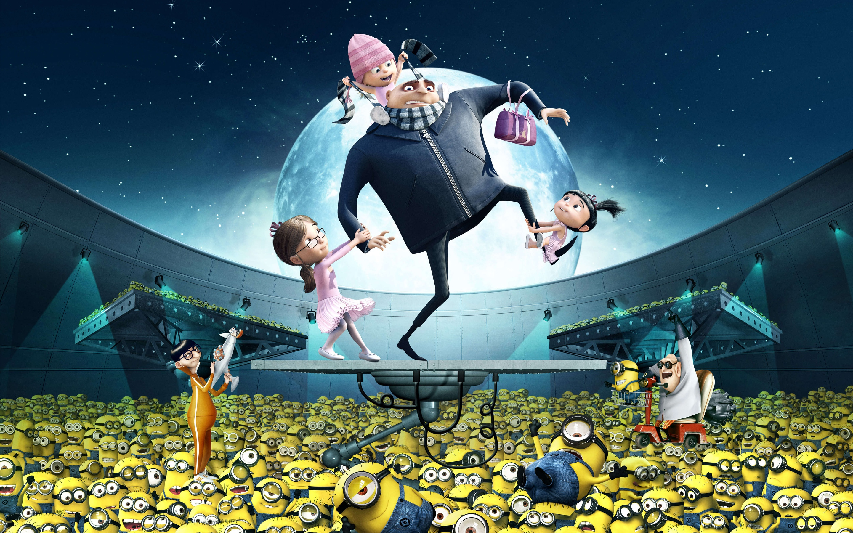 Gru Kids Minions Despicable Me Wallpapers In Format For