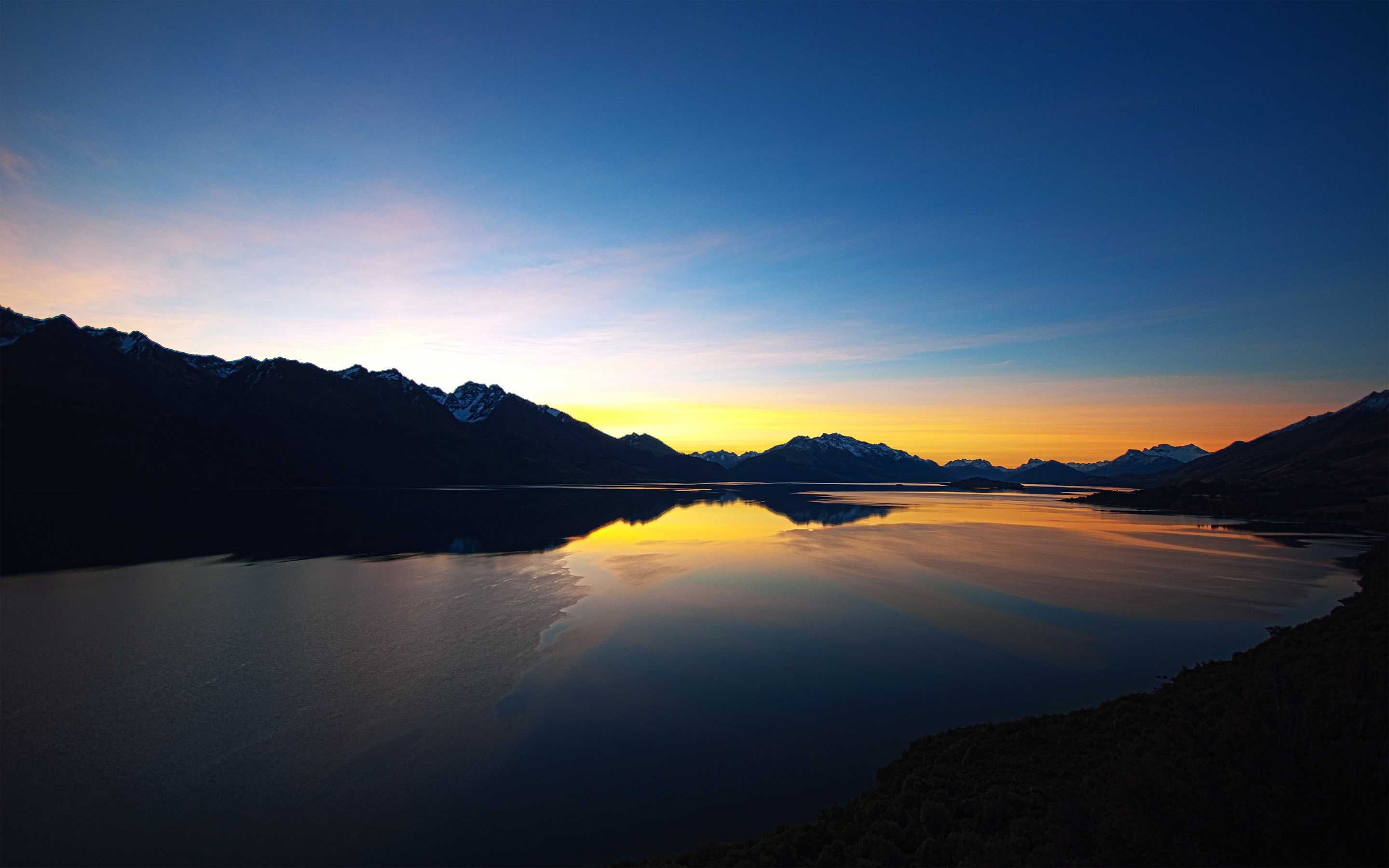 Beautiful Lake Sunset Wallpapers in jpg format for free download