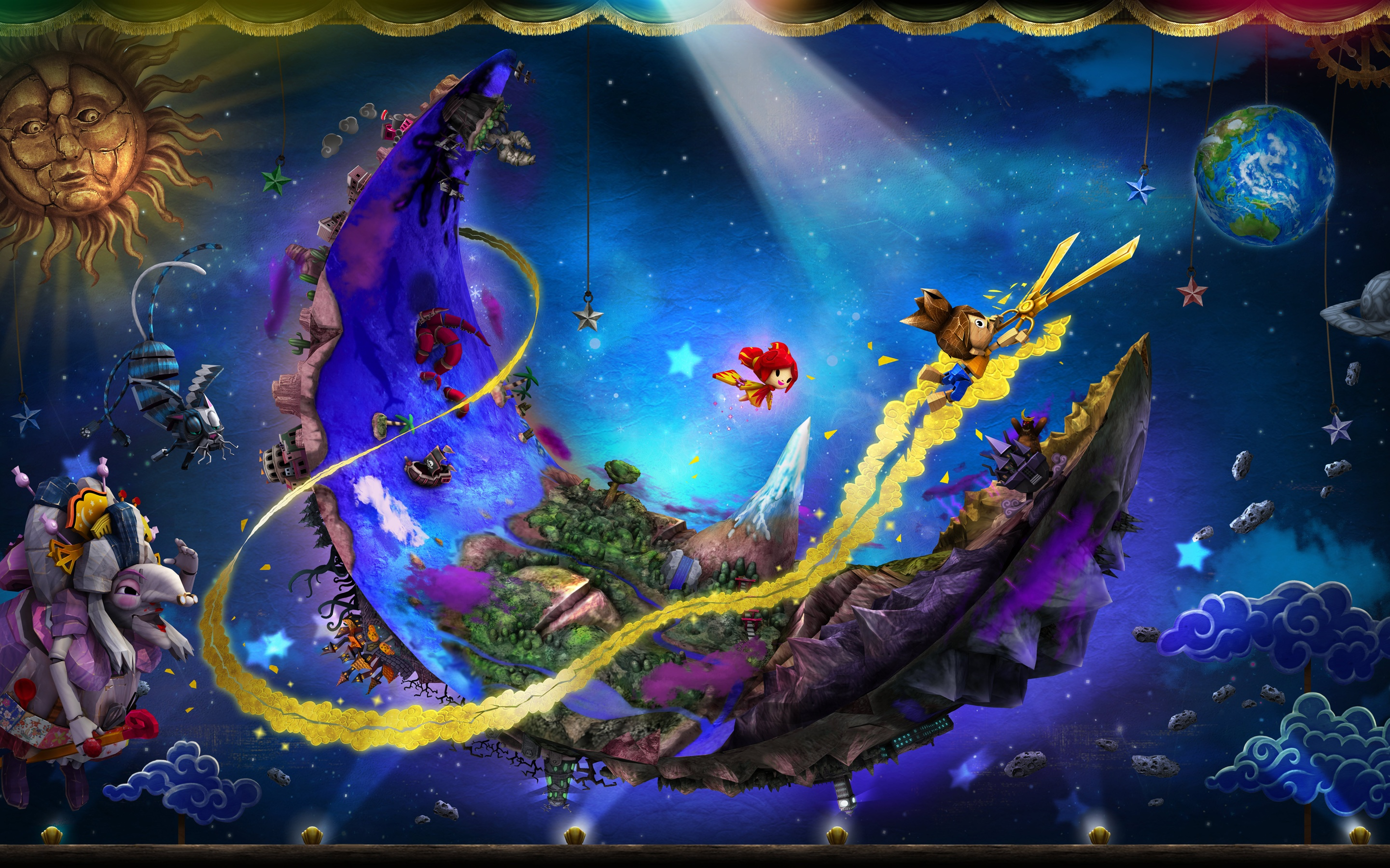Wallpaper download ps3 - Puppeteer Ps3 Game