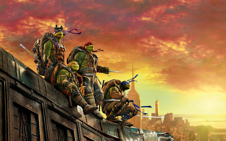 teenage mutant ninja turtle out of the shadows 5k wallpapers in jpg
