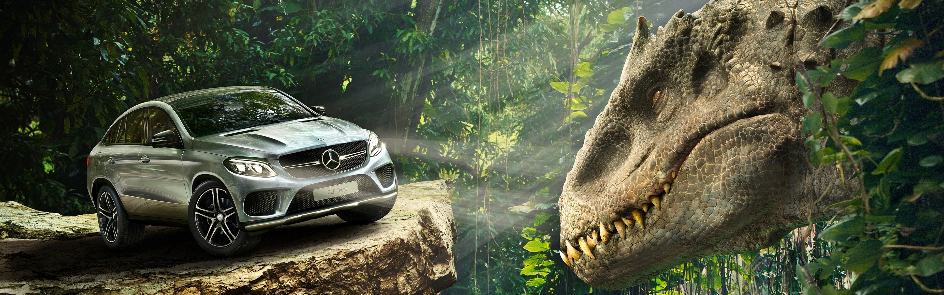 Mercedes Benz GLE Coupe Jurassic World Wallpapers in jpg format for