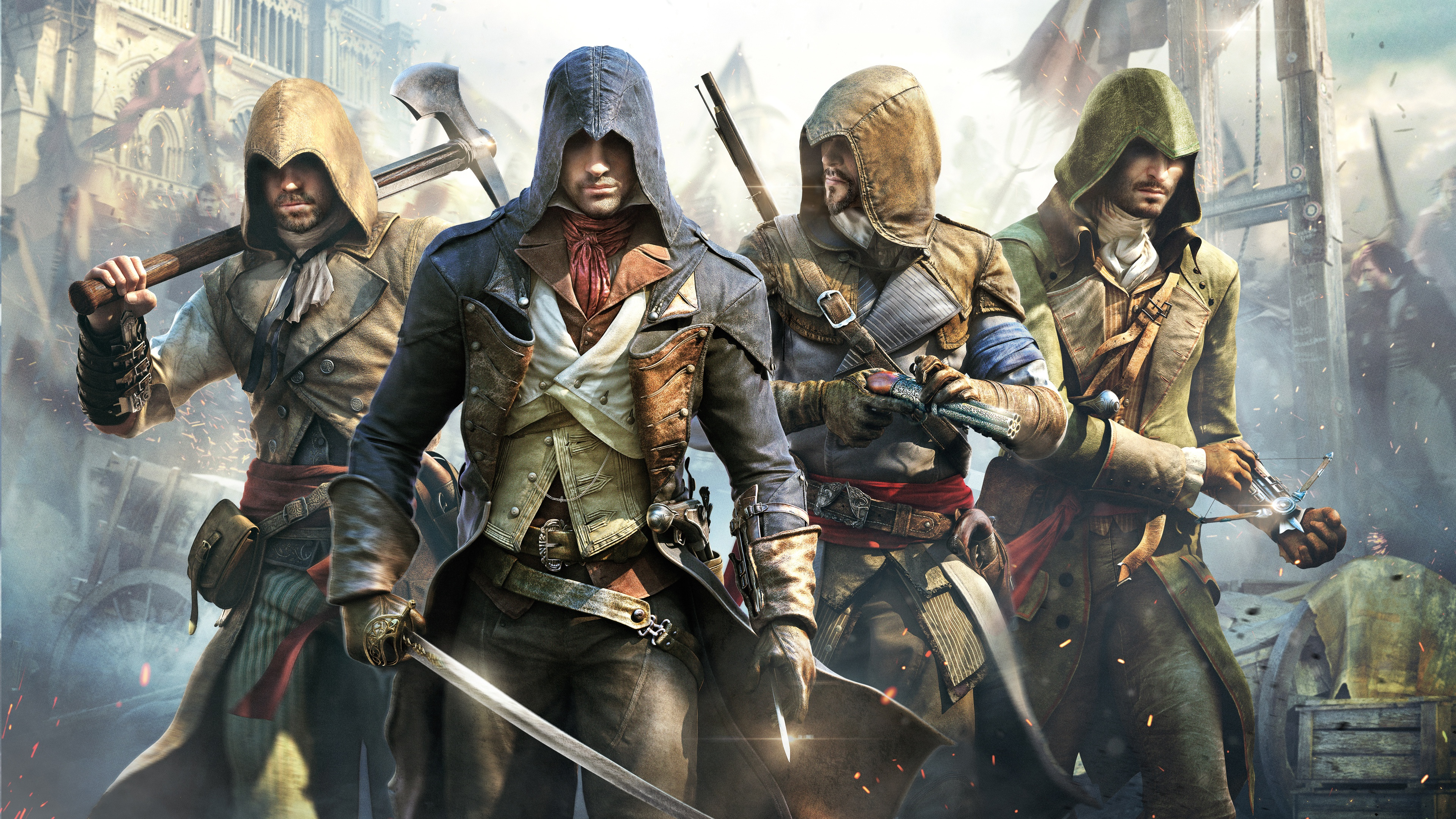 Assassin S Creed Unity Poster Wallpapers In Jpg Format For Free Download