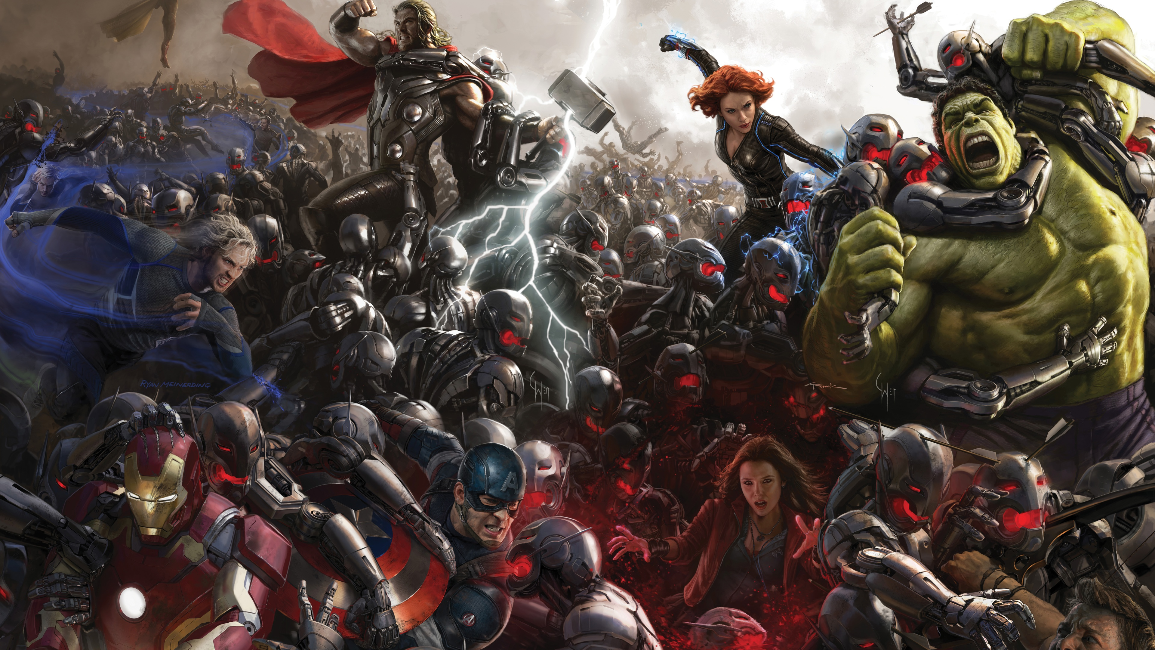 Avengers Age Of Ultron Concept Art Wallpapers