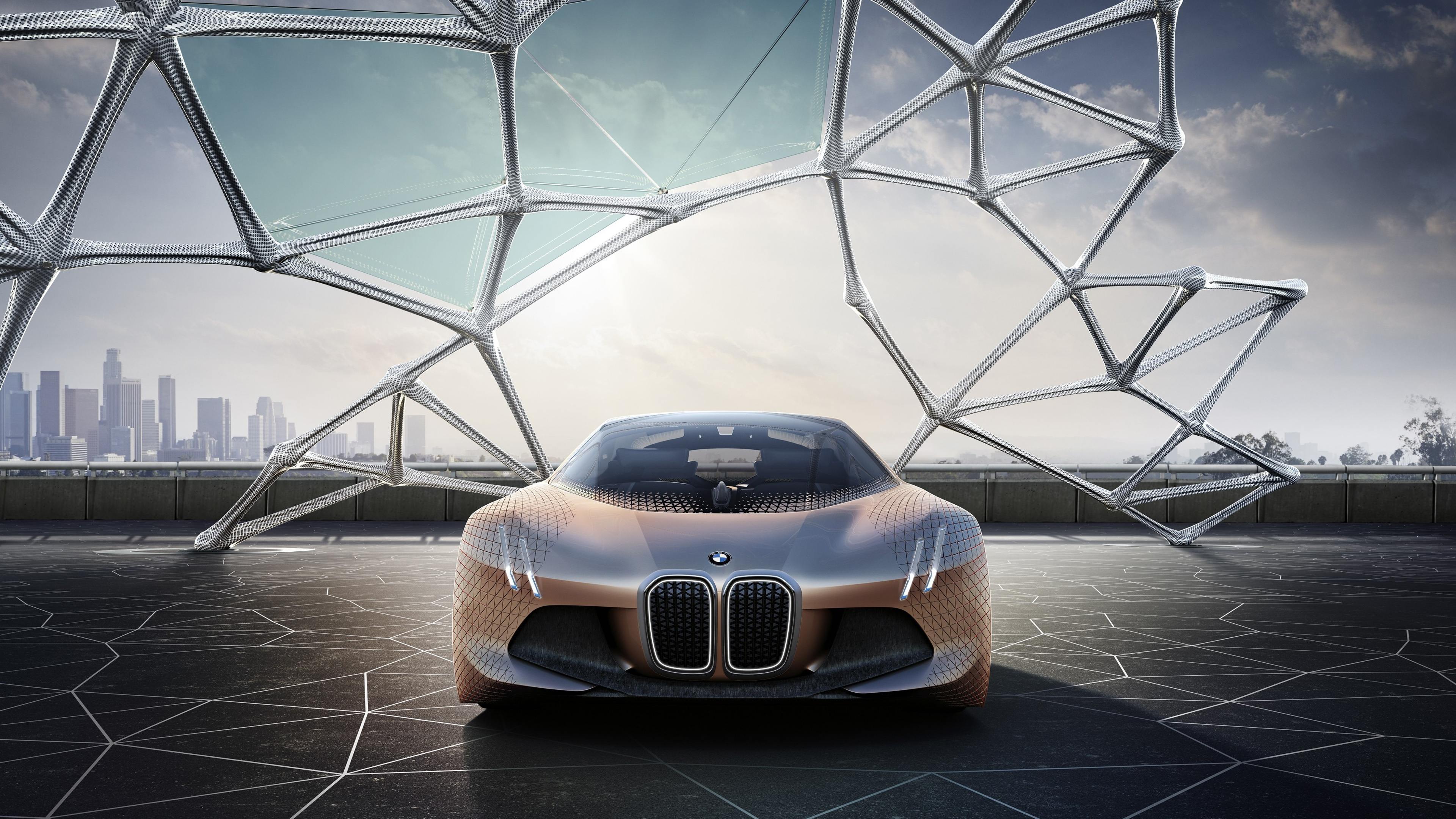 BMW Vision Next 100 Concept 4K Wallpapers