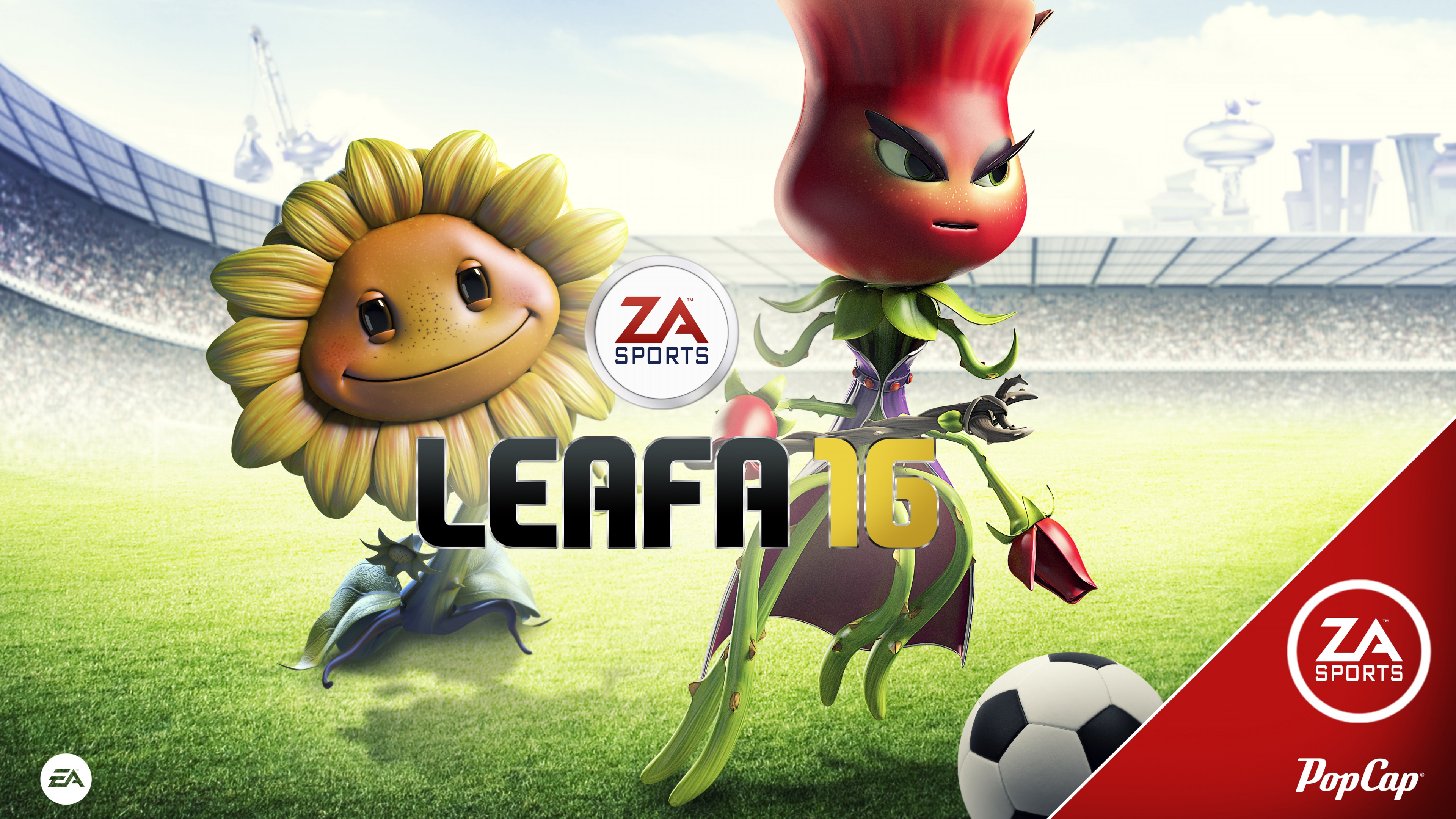 FIFA 16 PvZ Garden Warfare 2 Wallpapers