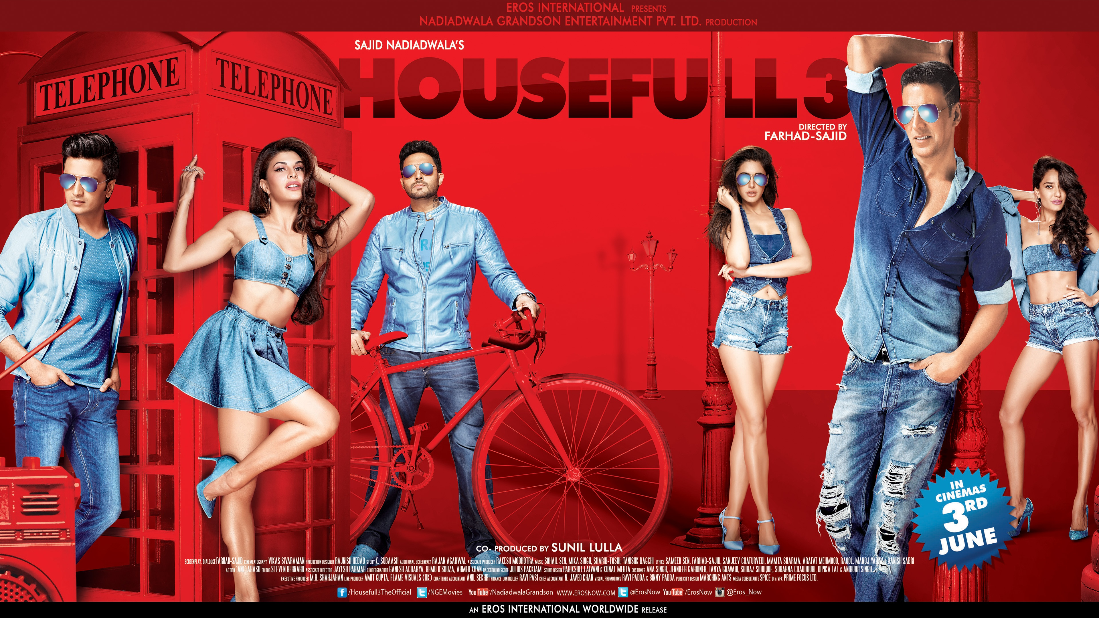 Housefull 3 2016 Bollywood 4k Wallpapers In Jpg Format For Free Download