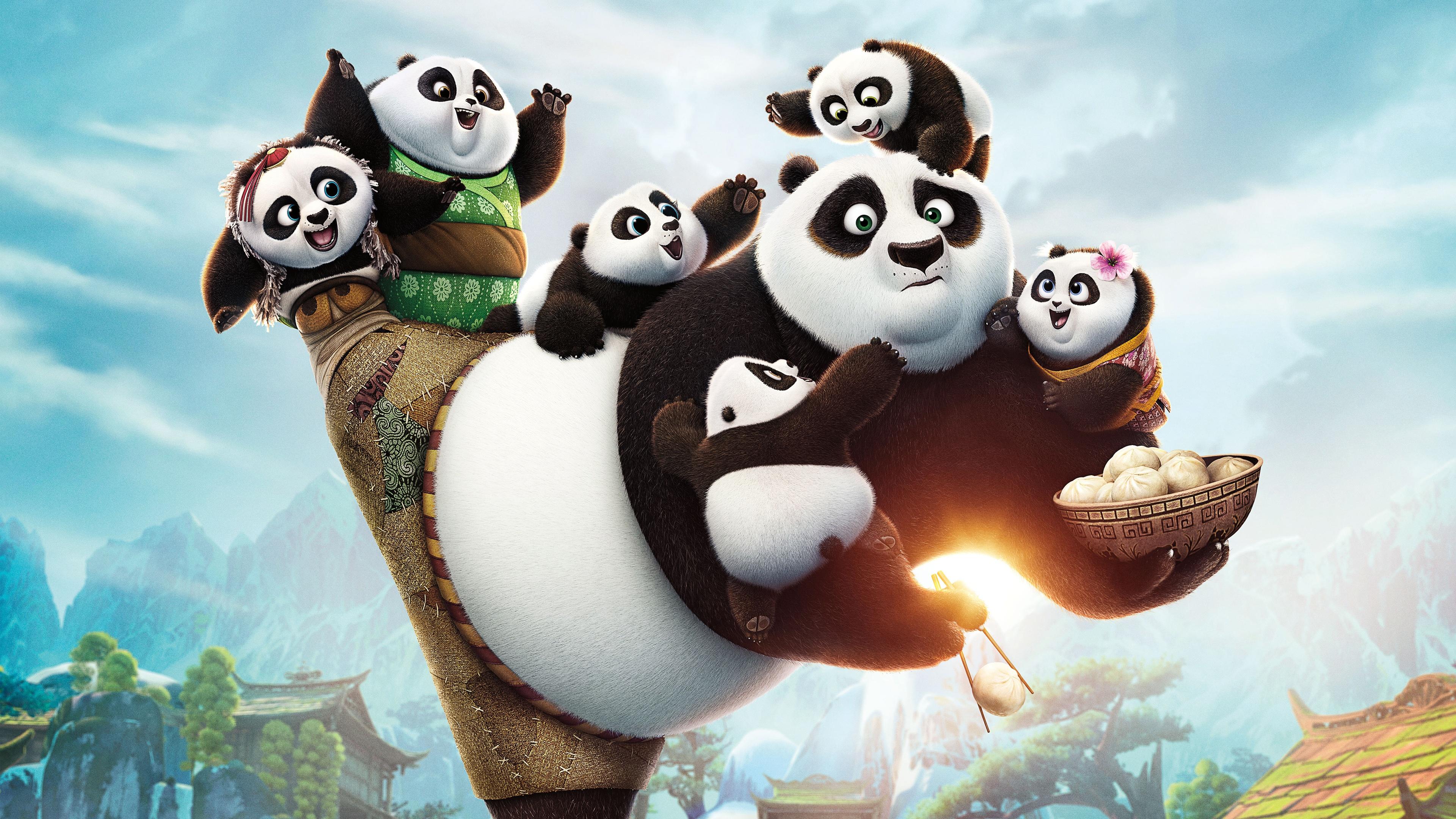 Kung Fu Panda 3 2016 Wallpapers In Jpg Format For Free Download