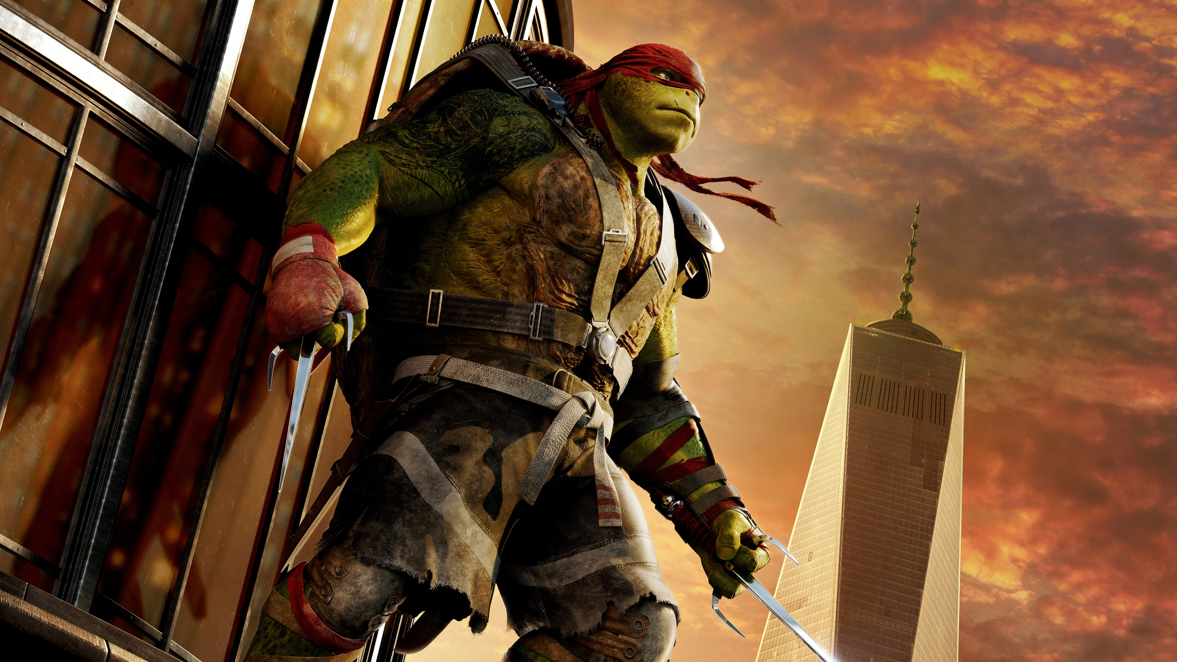 Raphael TMNT Out Of The Shadows HD Desktop Wallpaper for K