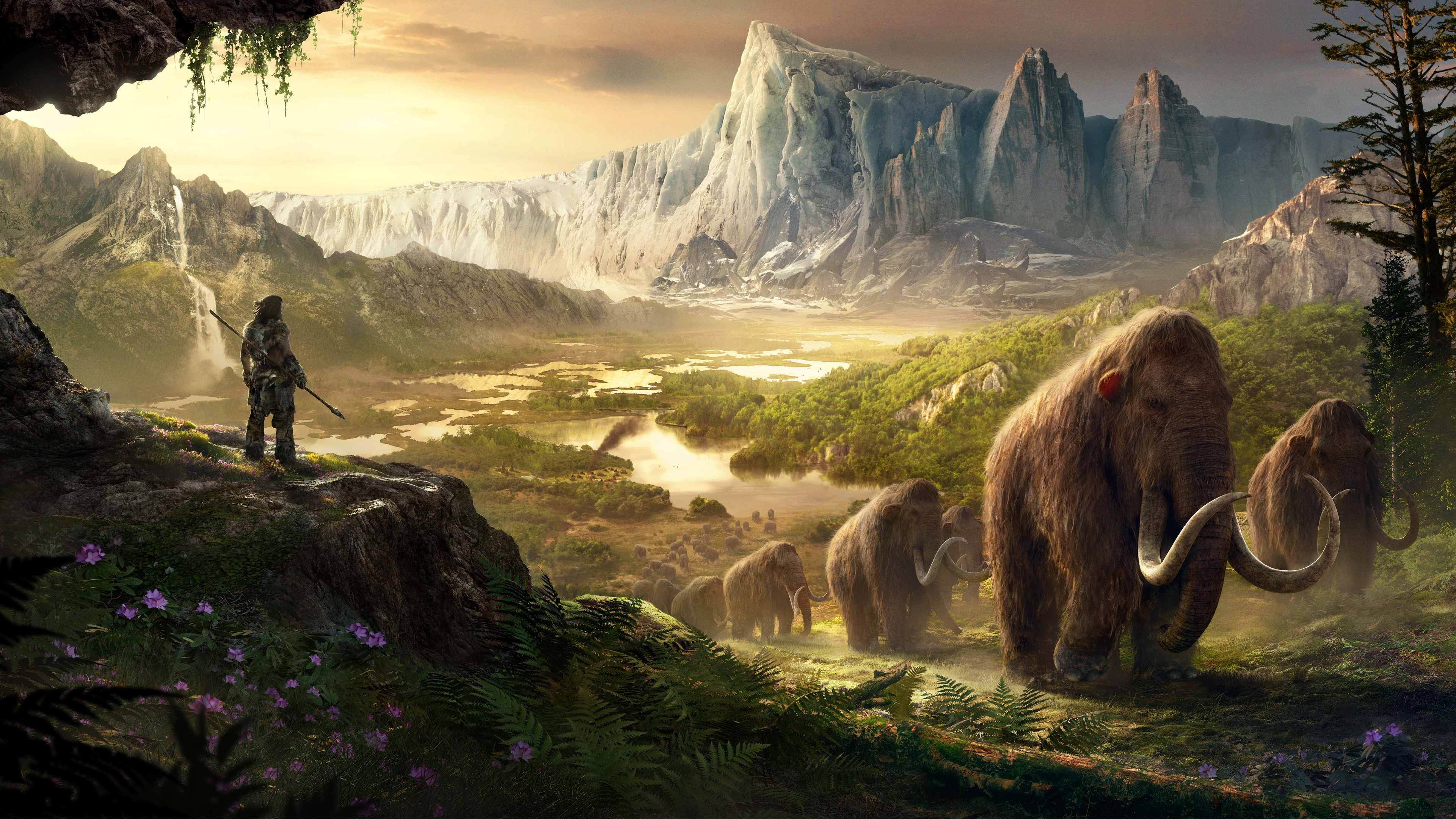 Takkar Mammoths Far Cry Primal Wallpapers In Jpg Format For Free Download