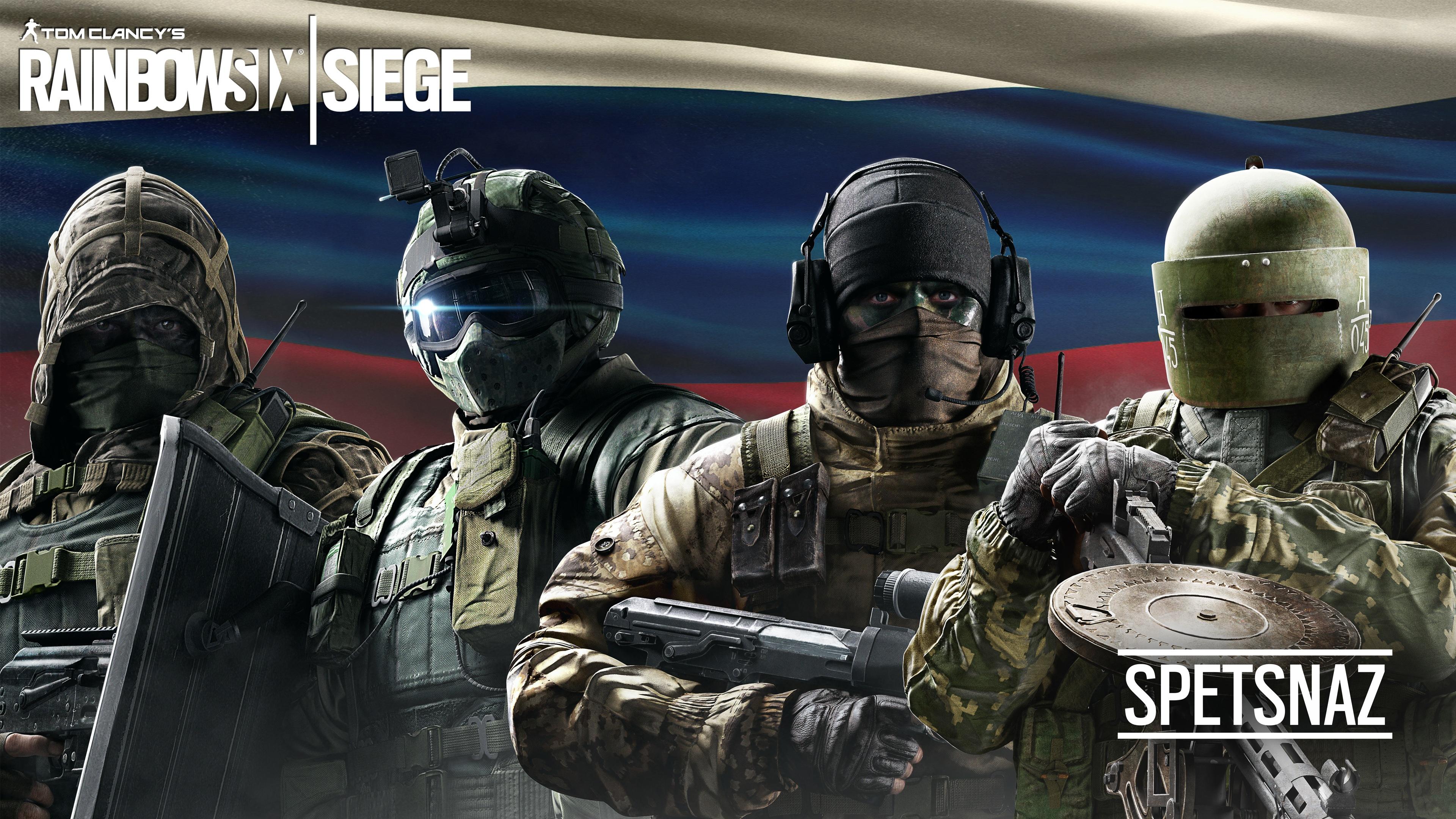 Tom Clancys Rainbow Six Siege Spetsnaz Wallpapers