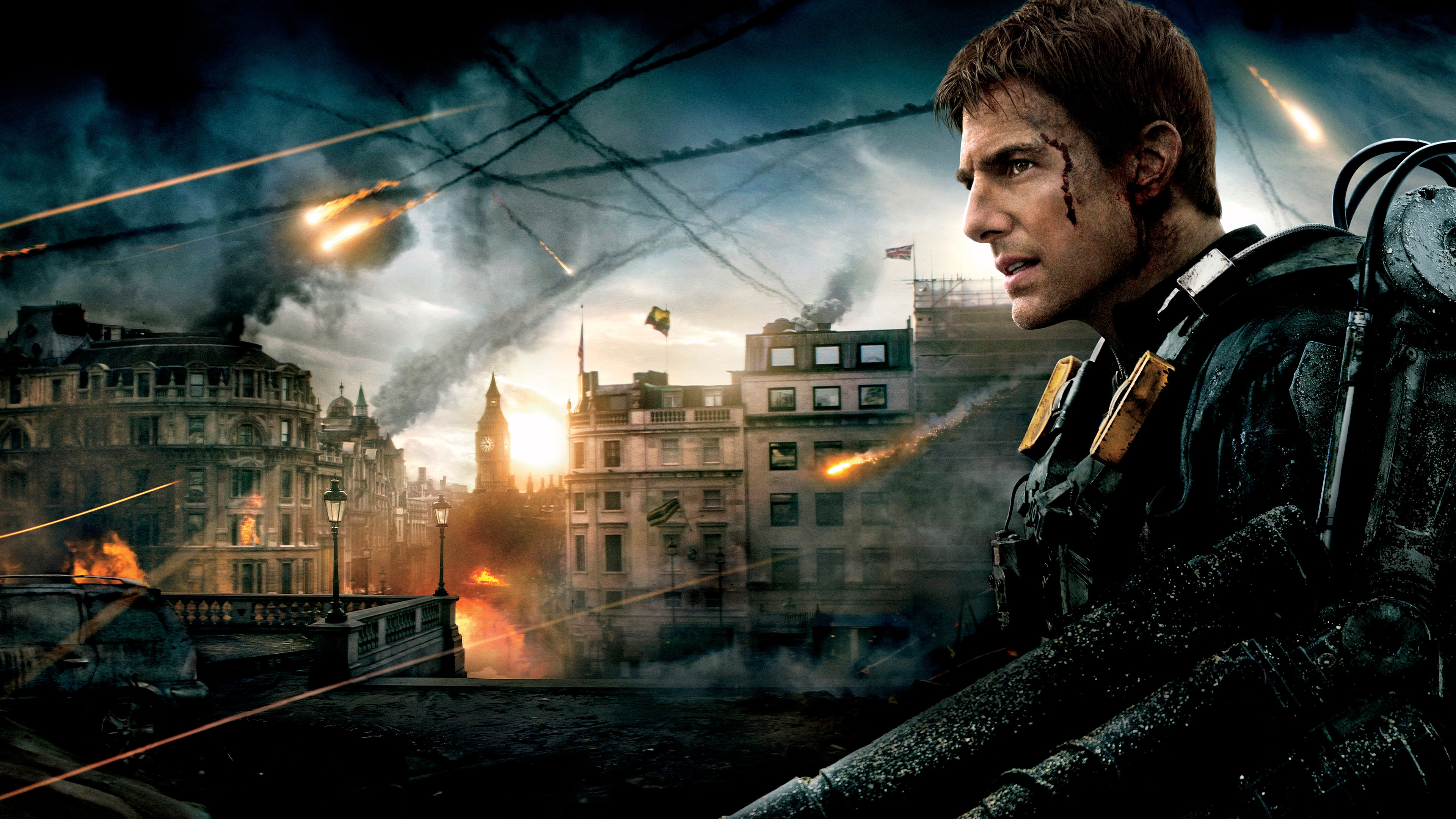 Tom Cruise in Edge of Tomorrow Wallpapers in jpg format for