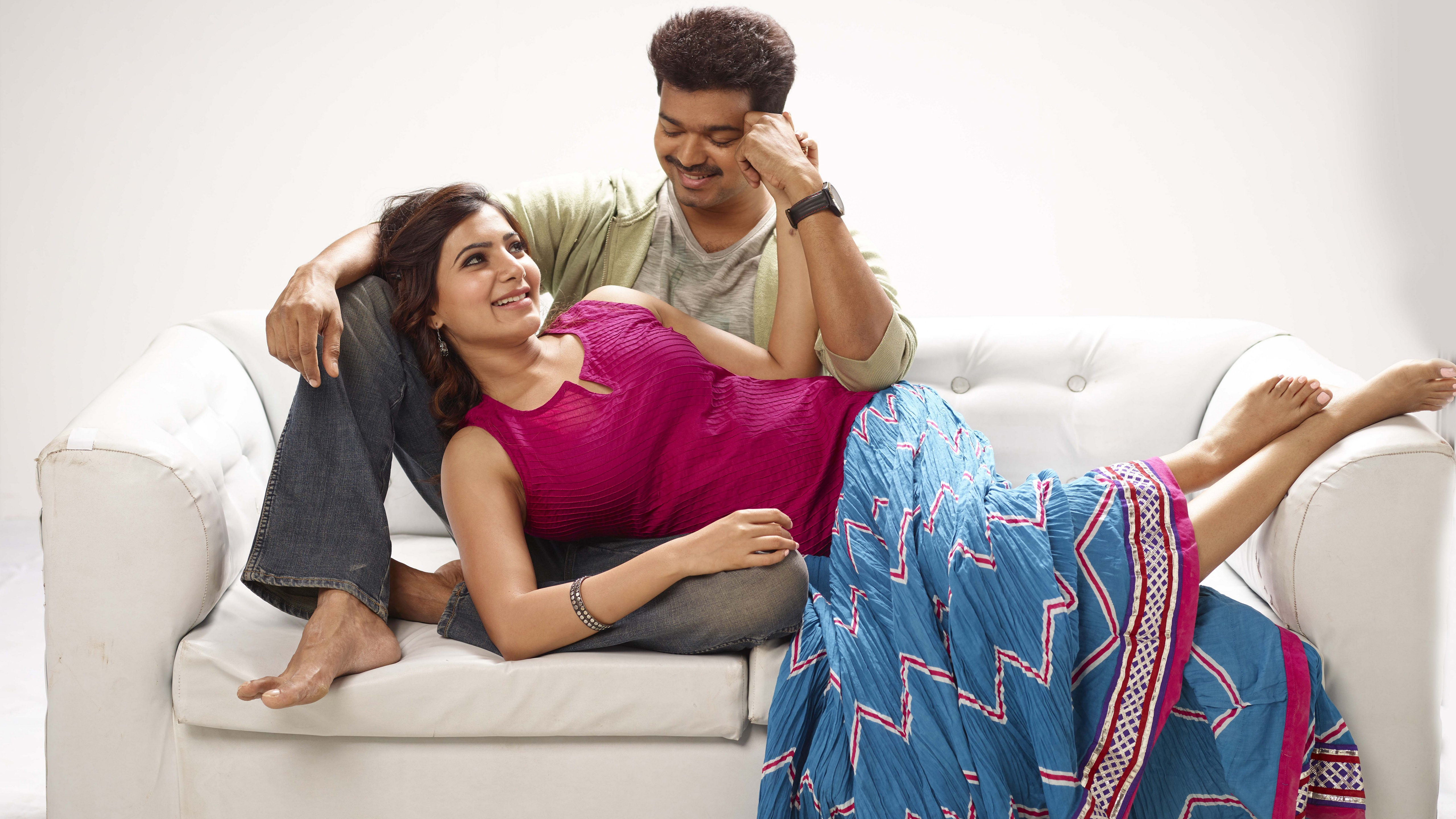 vijay samantha in kaththi wallpapers in jpg format for free download