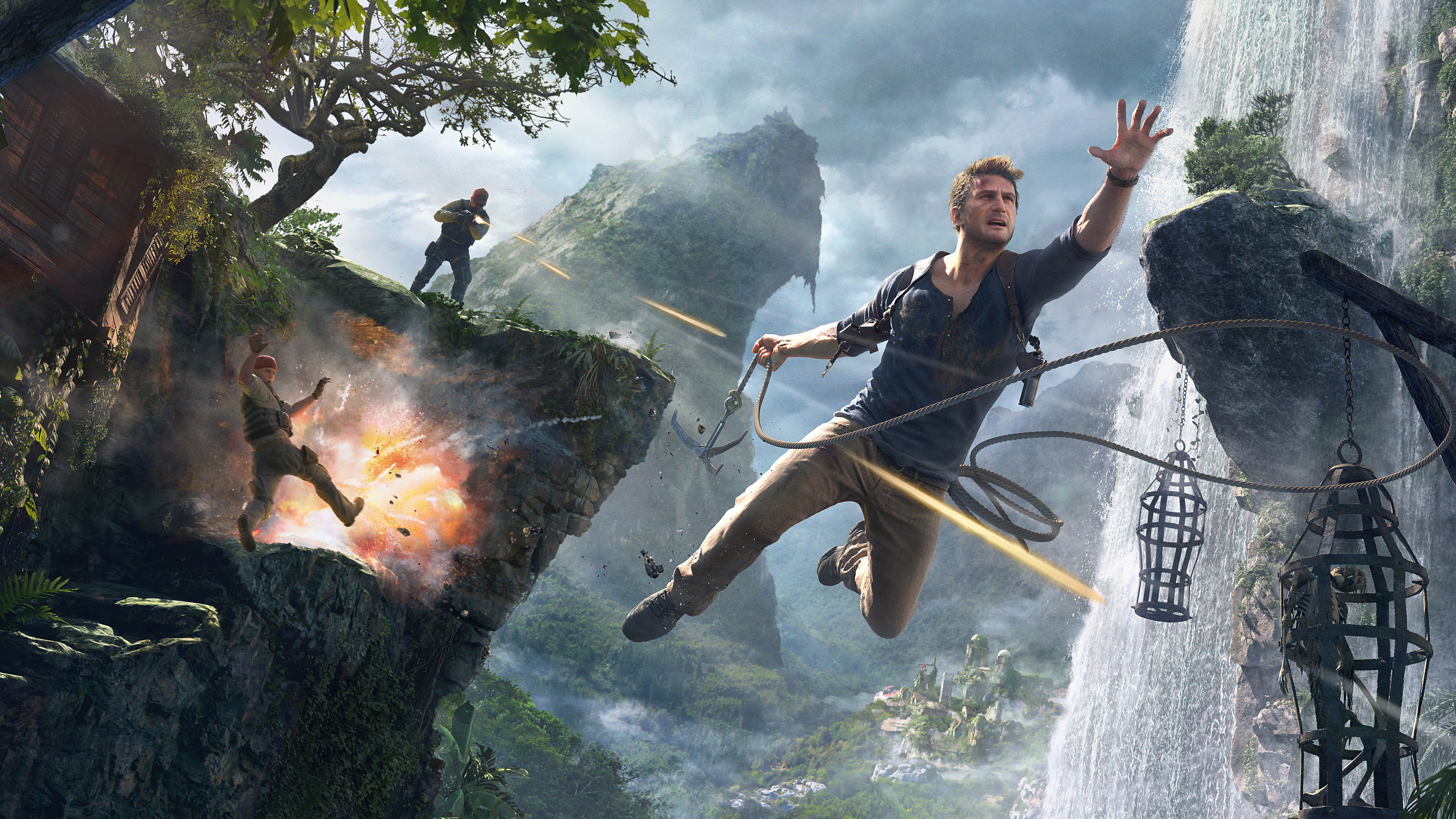 uncharted 4 a thief's end 4k 8k hd wallpapers in jpg format for free